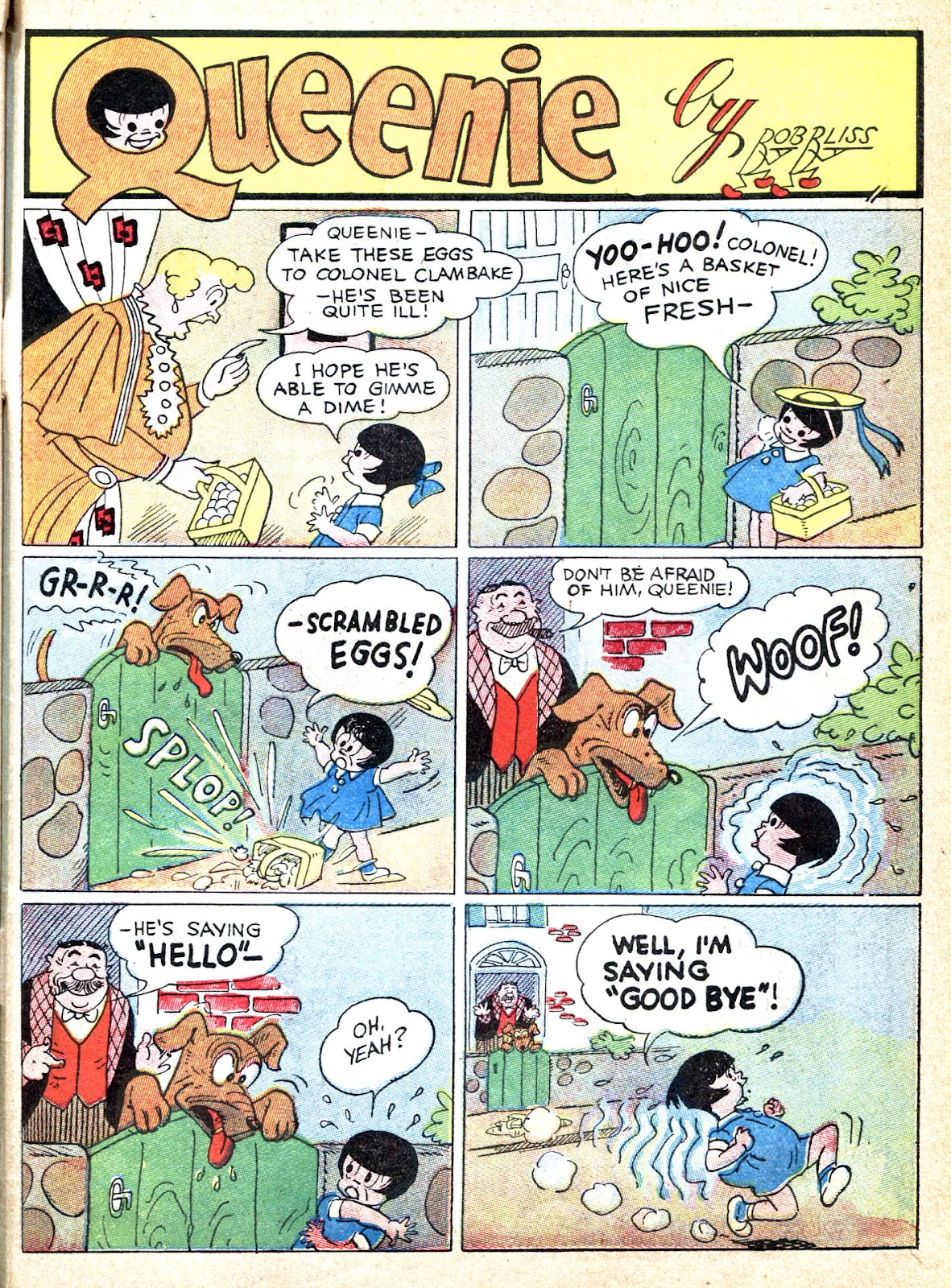 Read online Famous Funnies comic -  Issue #39 - 59