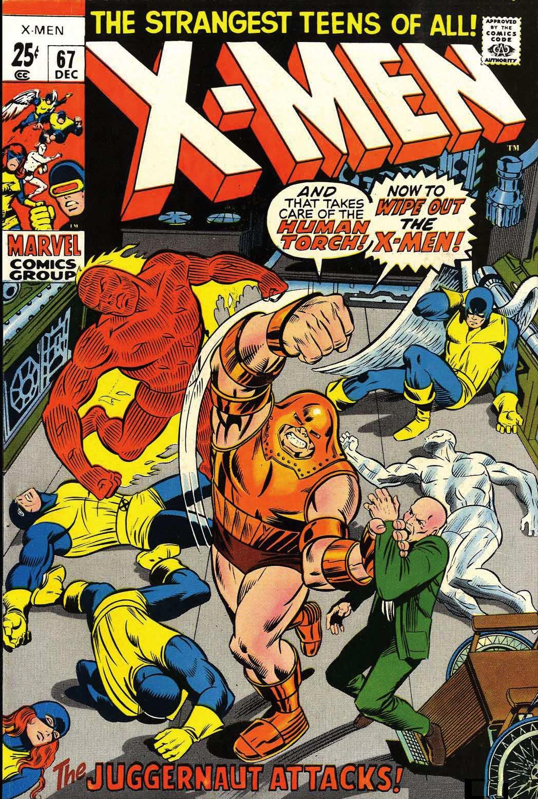 Uncanny X-Men (1963) 67 Page 1
