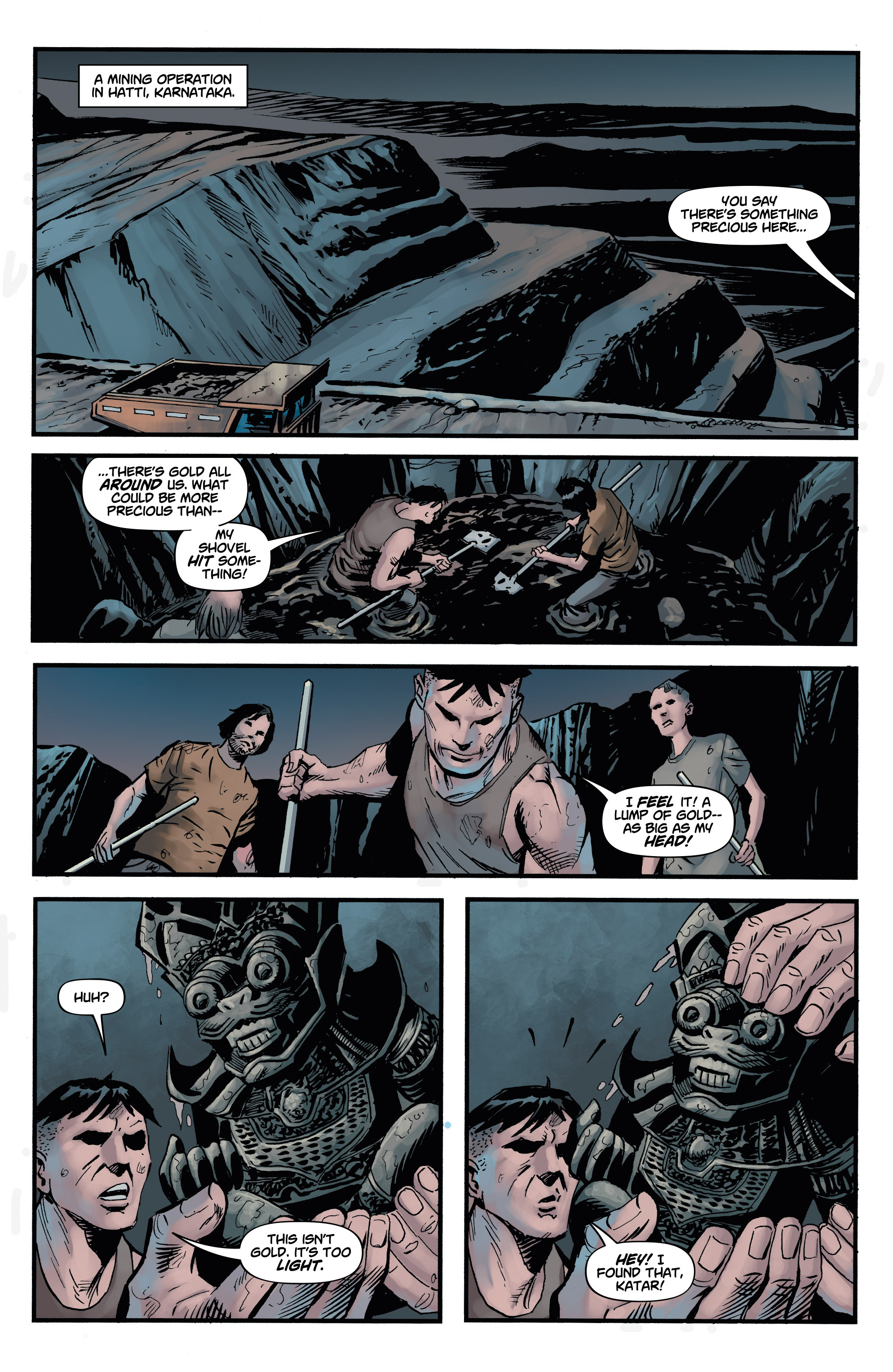 Read online Shadow Tiger comic -  Issue #2 - 8