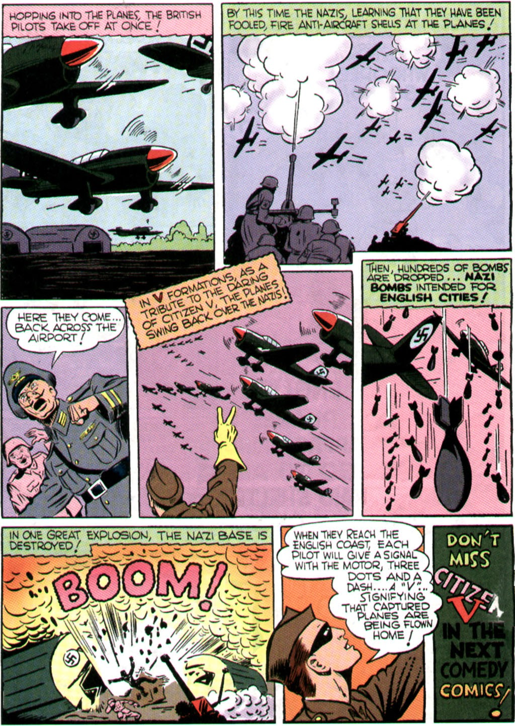 Read online Comedy Comics (1942) comic -  Issue #9 - 31