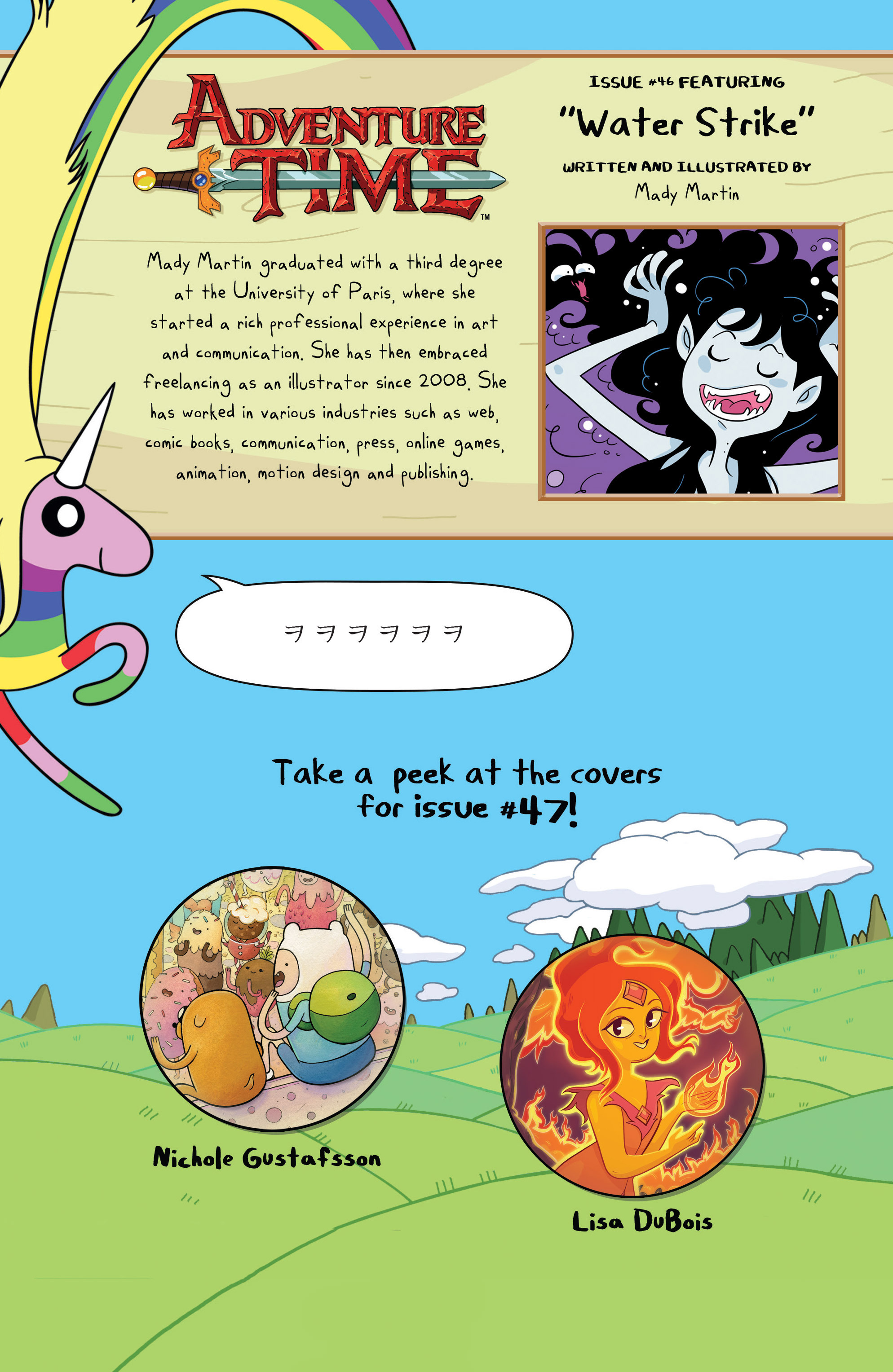 Read online Adventure Time comic -  Issue #46 - 25