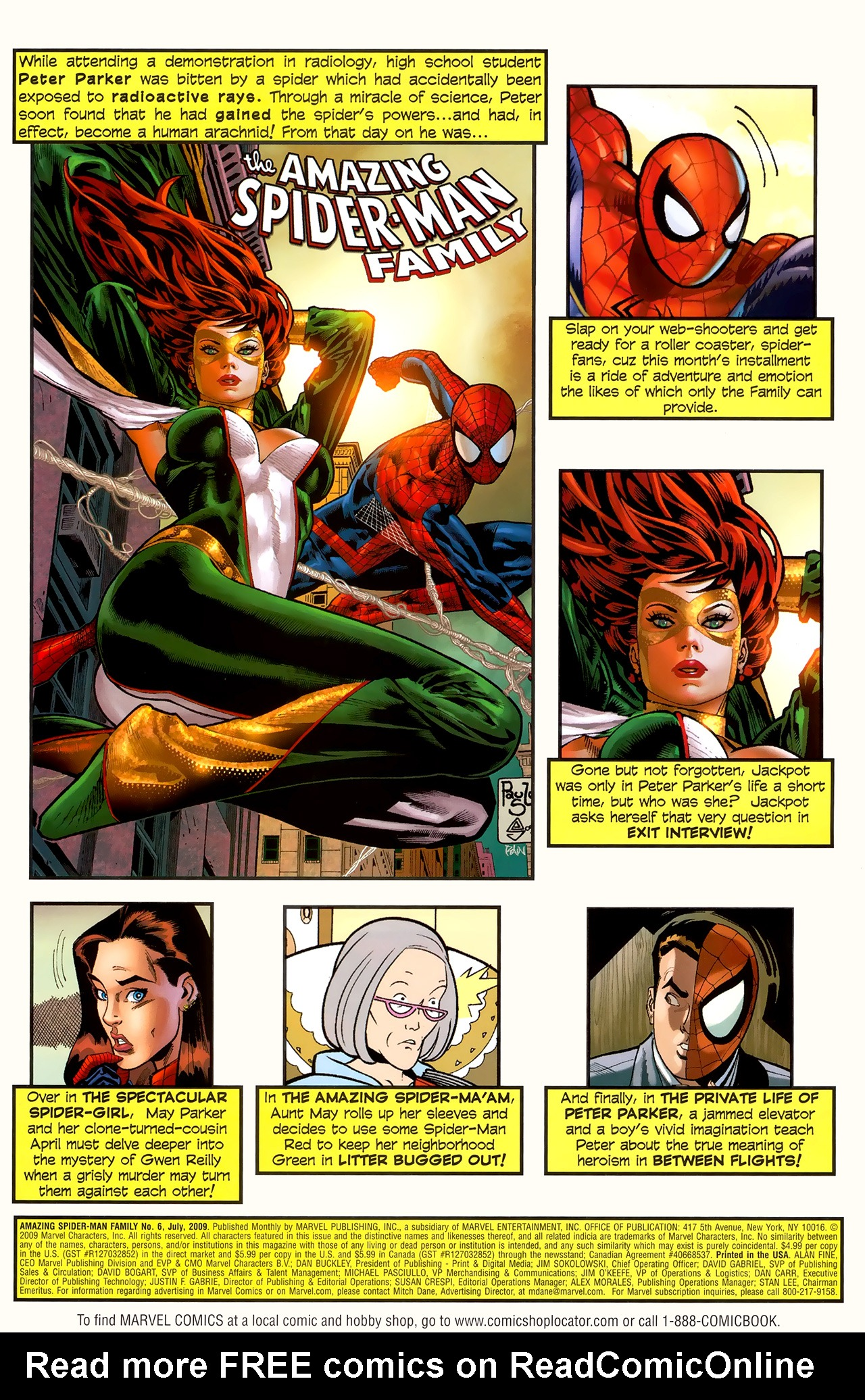 Read online Amazing Spider-Man Family comic -  Issue #6 - 2