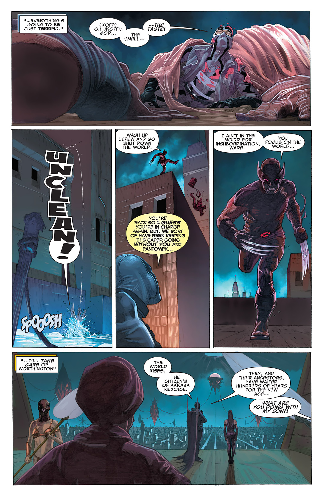 Read online Uncanny X-Force (2010) comic -  Issue #16 - 12