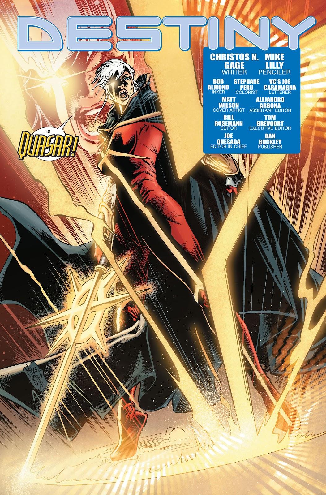 Annihilation: Conquest - Quasar issue 1 - Page 5