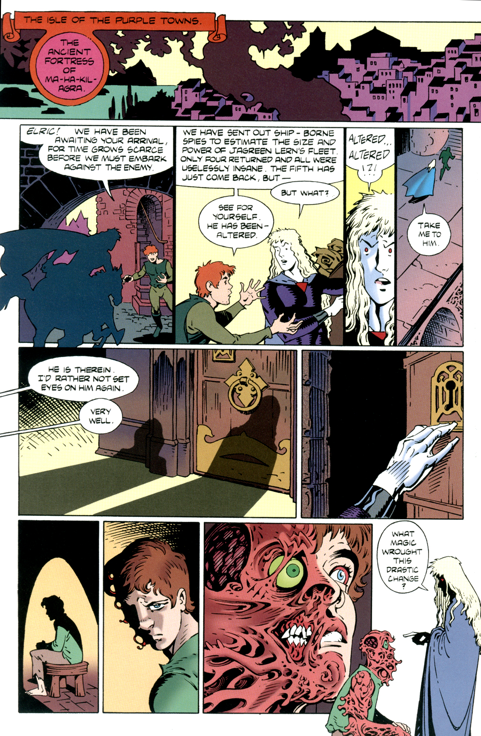 Read online Elric: Stormbringer comic -  Issue #4 - 16