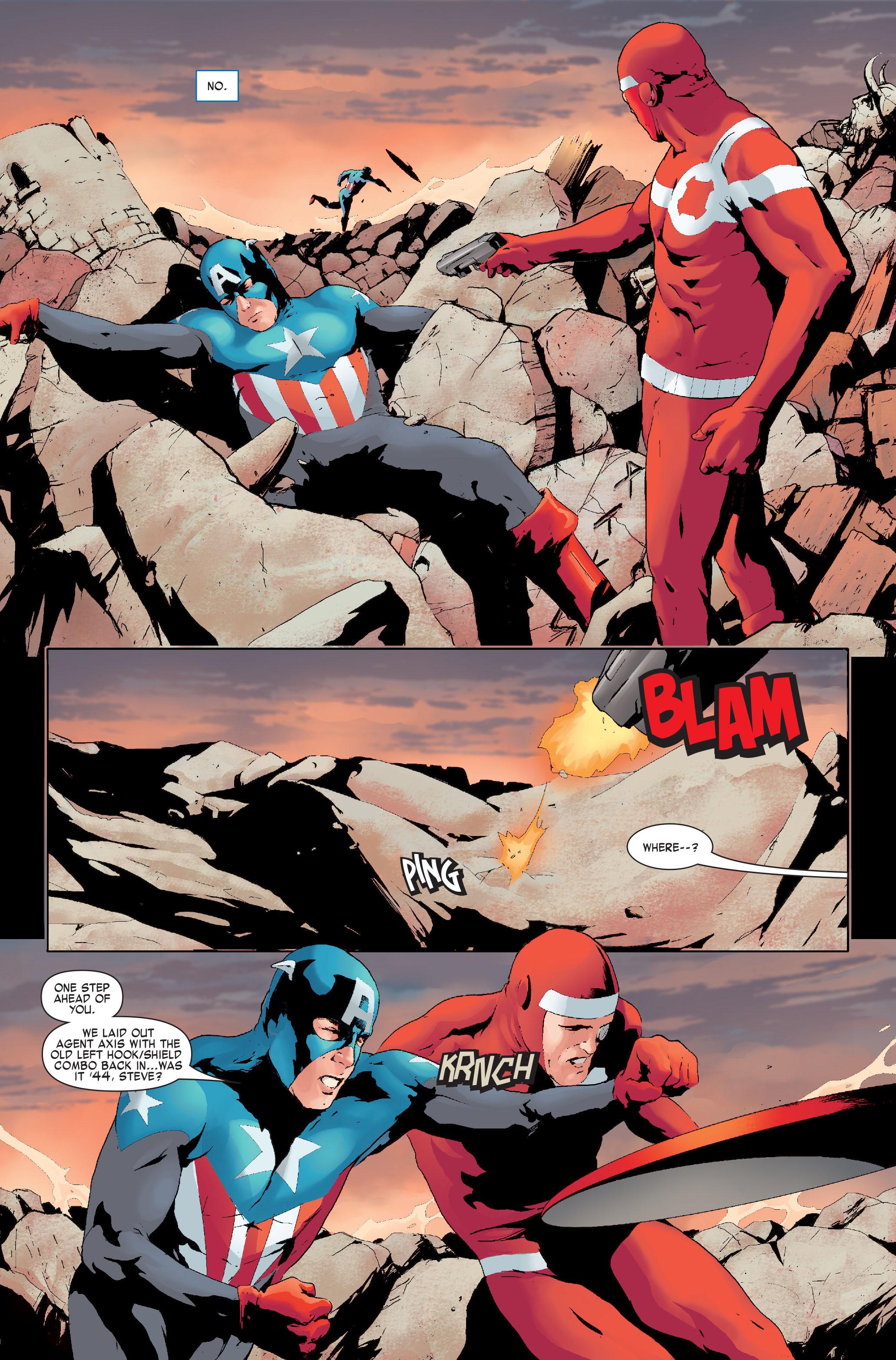 Read online Siege: Captain America comic -  Issue # Full - 9