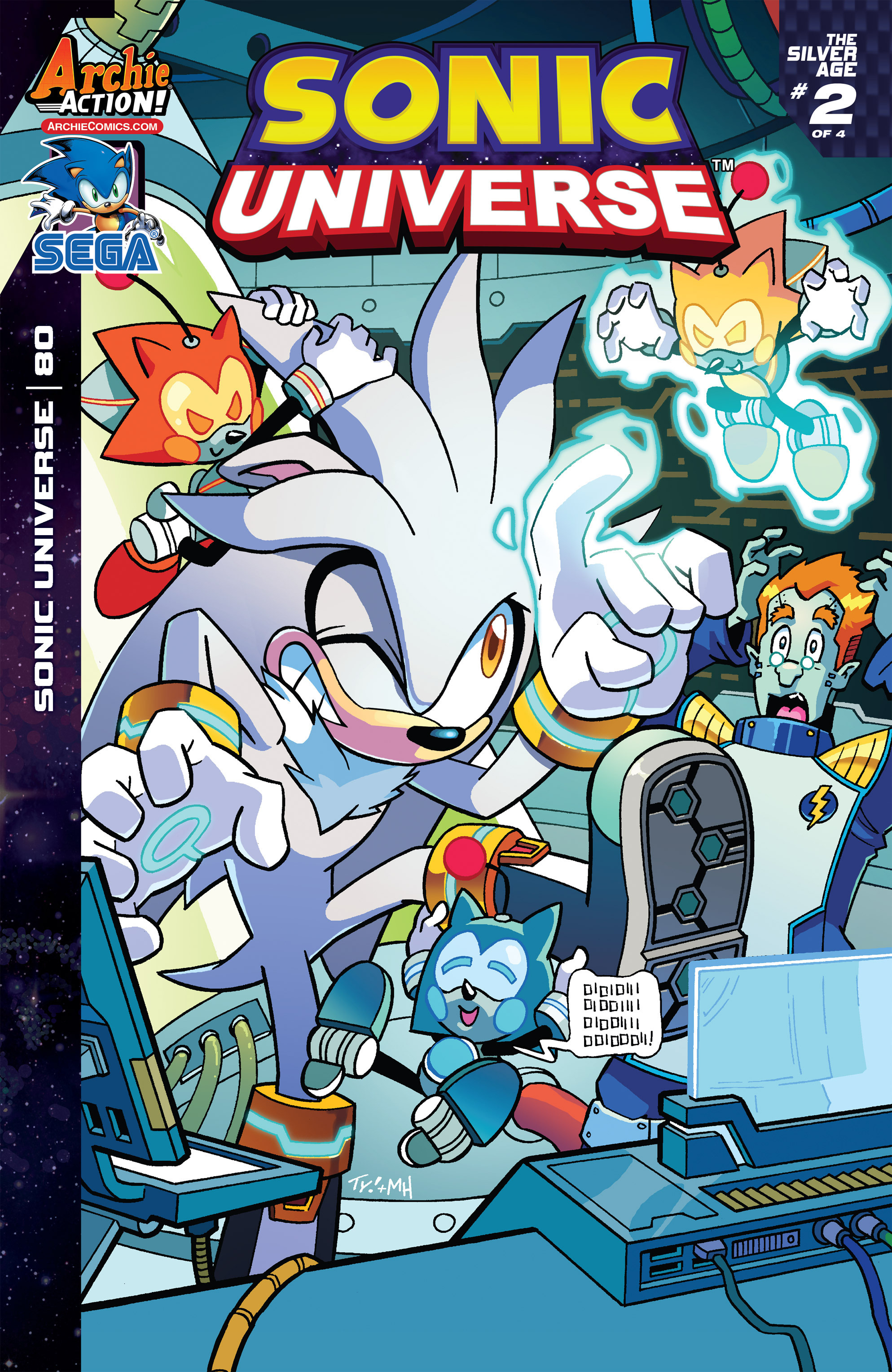 Read online Sonic Universe comic -  Issue #80 - 1