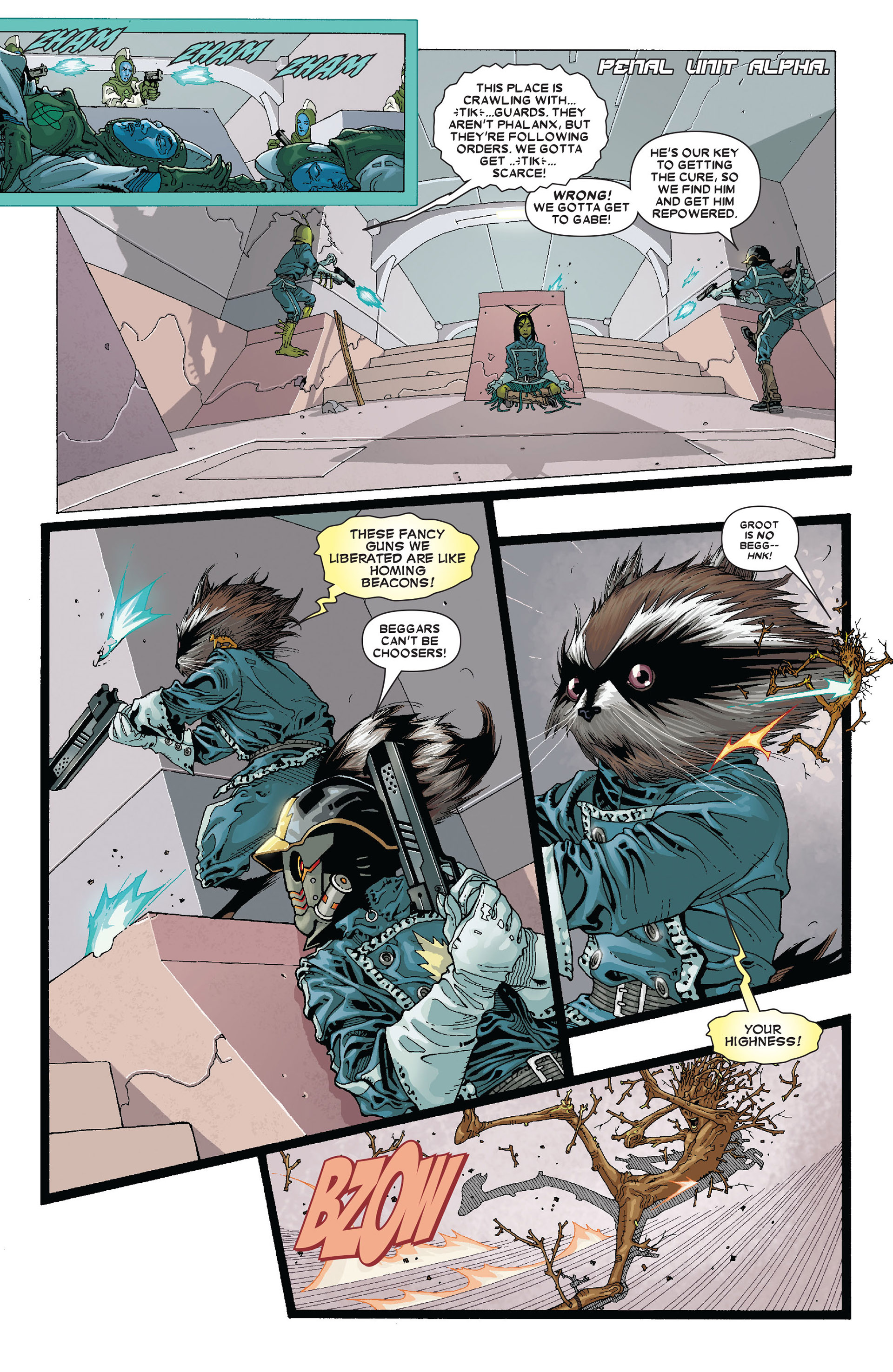 Read online Annihilation: Conquest - Starlord comic -  Issue #4 - 10