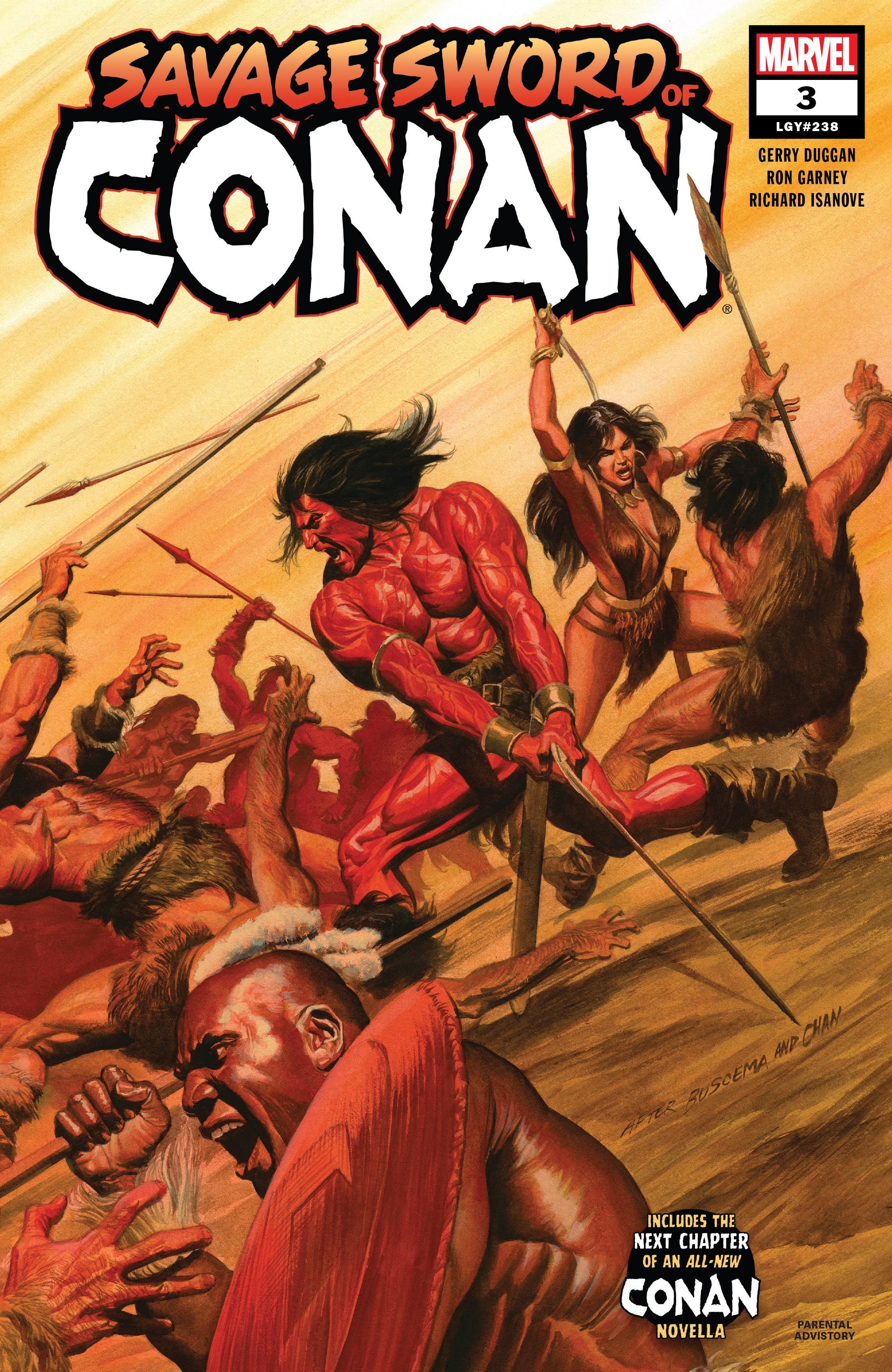 Read online Savage Sword of Conan comic -  Issue #3 - 1