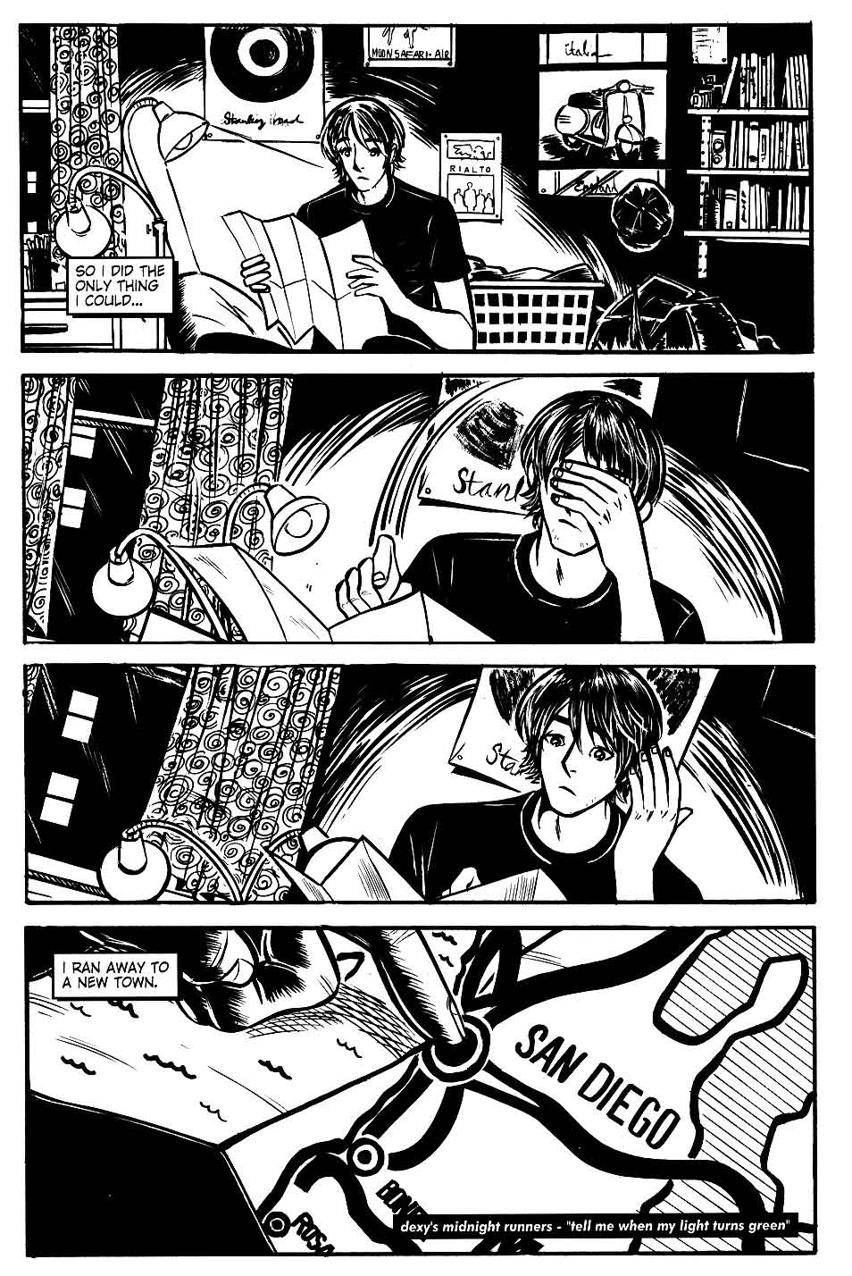 Read online Scooter Girl comic -  Issue #1 - 30