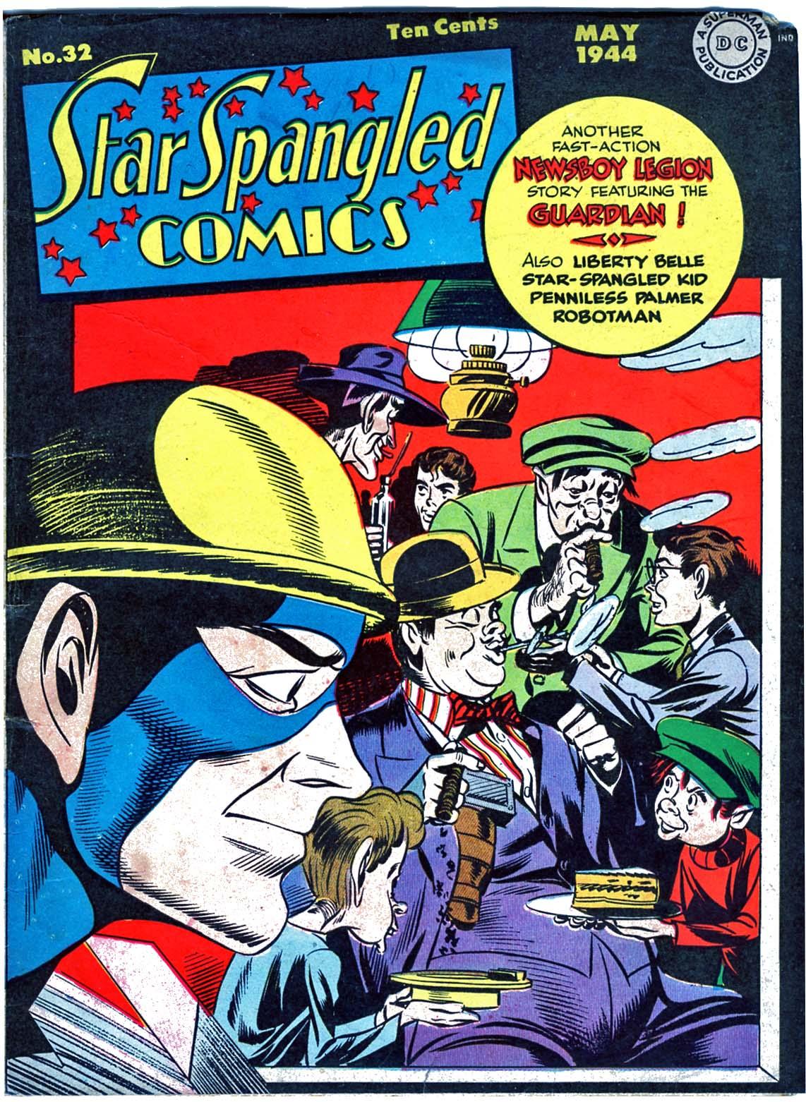 Star Spangled Comics (1941) 32 Page 1