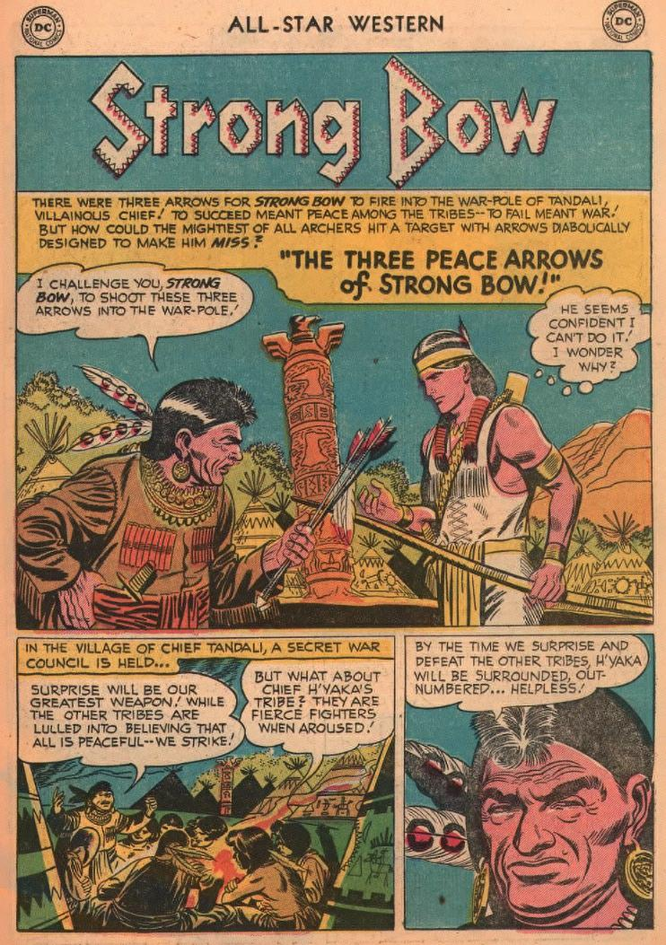 Read online All-Star Western (1951) comic -  Issue #87 - 11