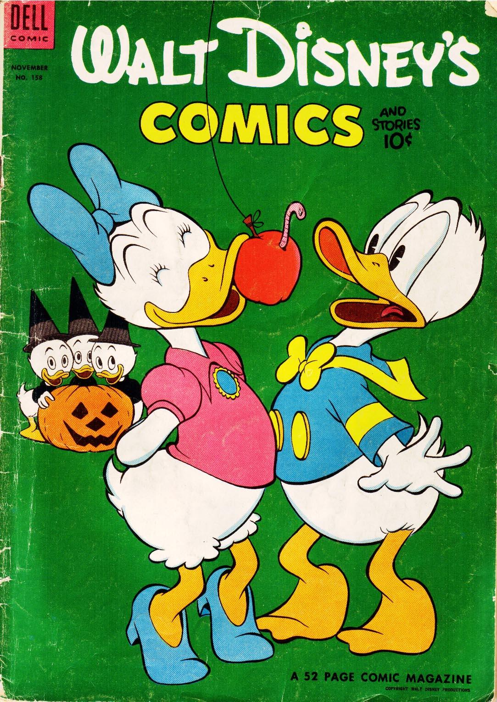 Walt Disneys Comics and Stories 158 Page 1