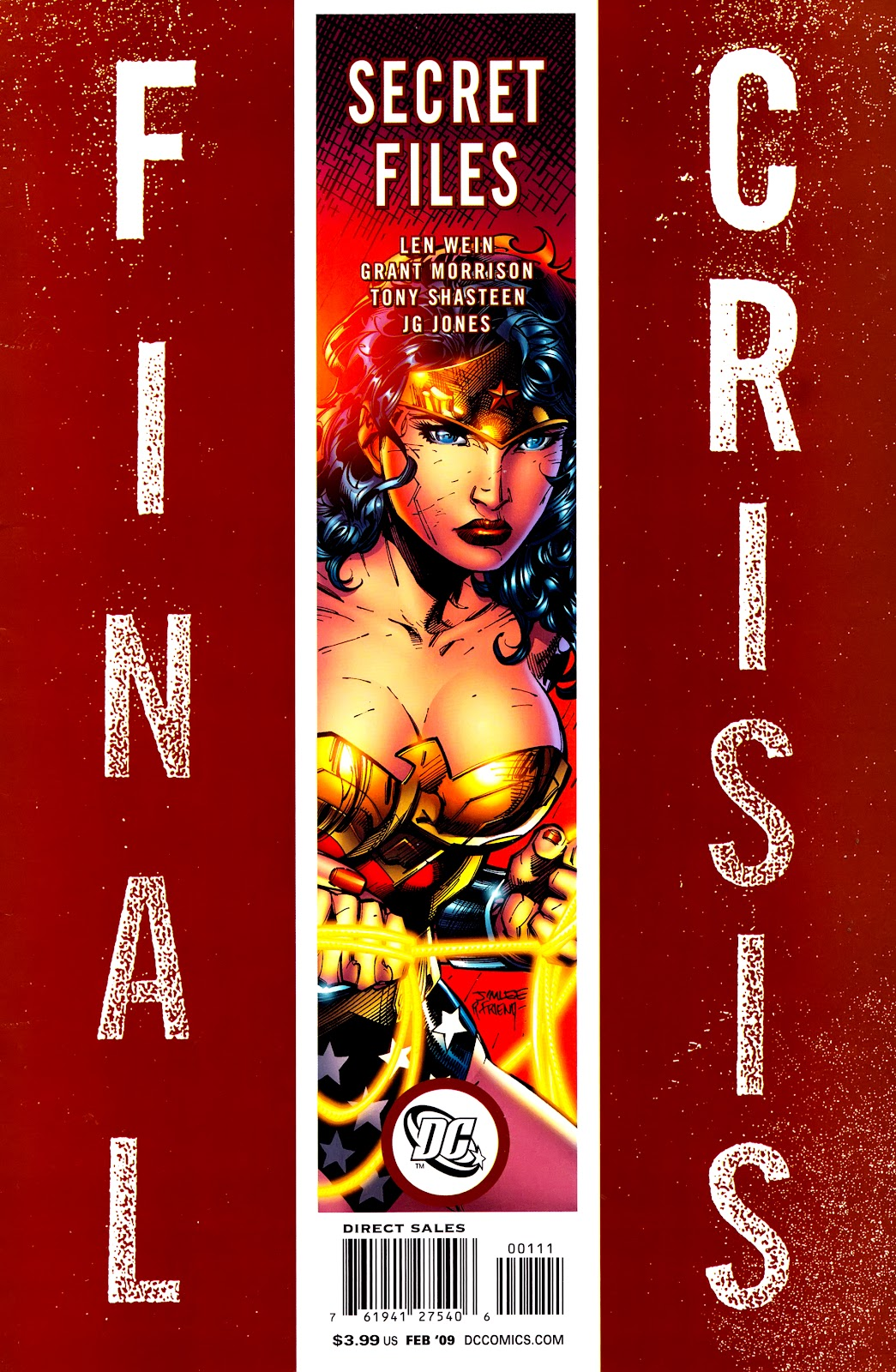 Final Crisis: Secret Files issue Full - Page 1