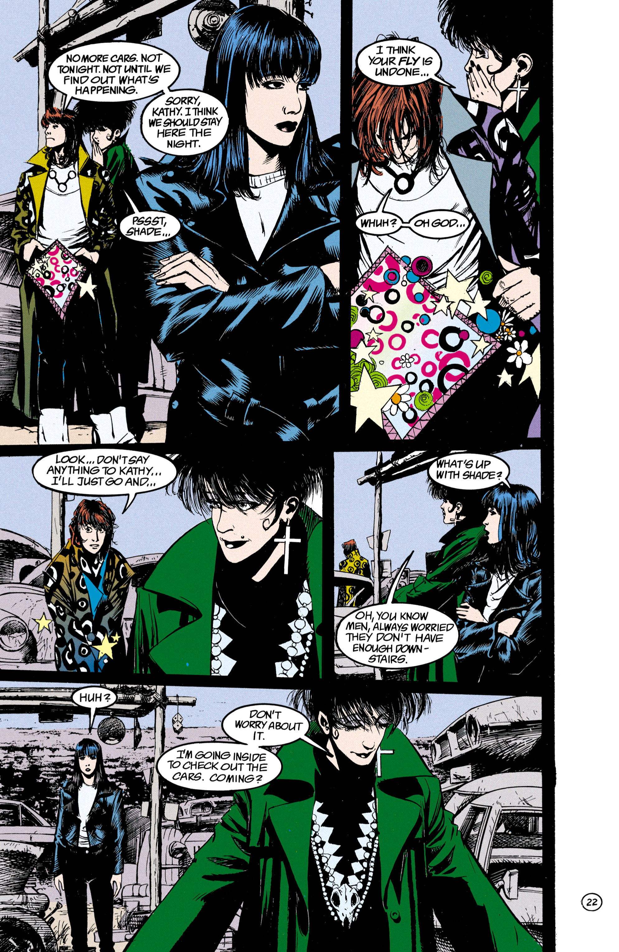 Read online Shade, the Changing Man comic -  Issue #23 - 23