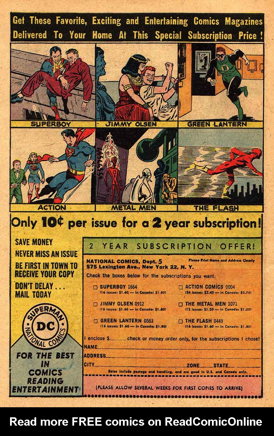Read online Action Comics (1938) comic -  Issue #305 - 17