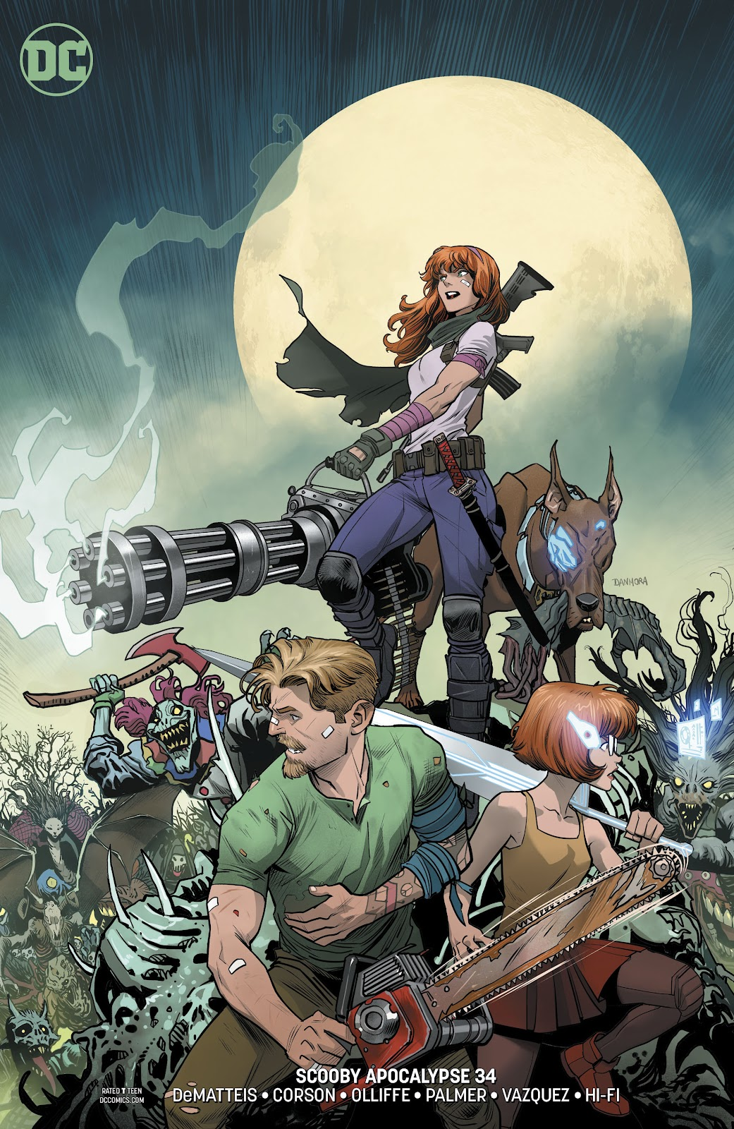 Read online Scooby Apocalypse comic -  Issue #34 - 3