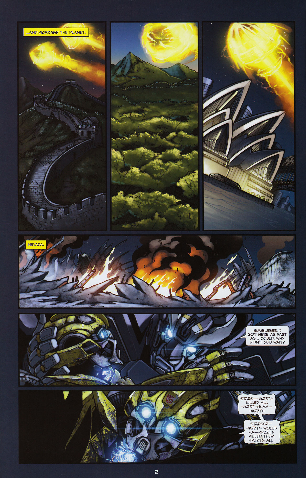 Read online Transformers: Alliance comic -  Issue #3 - 5
