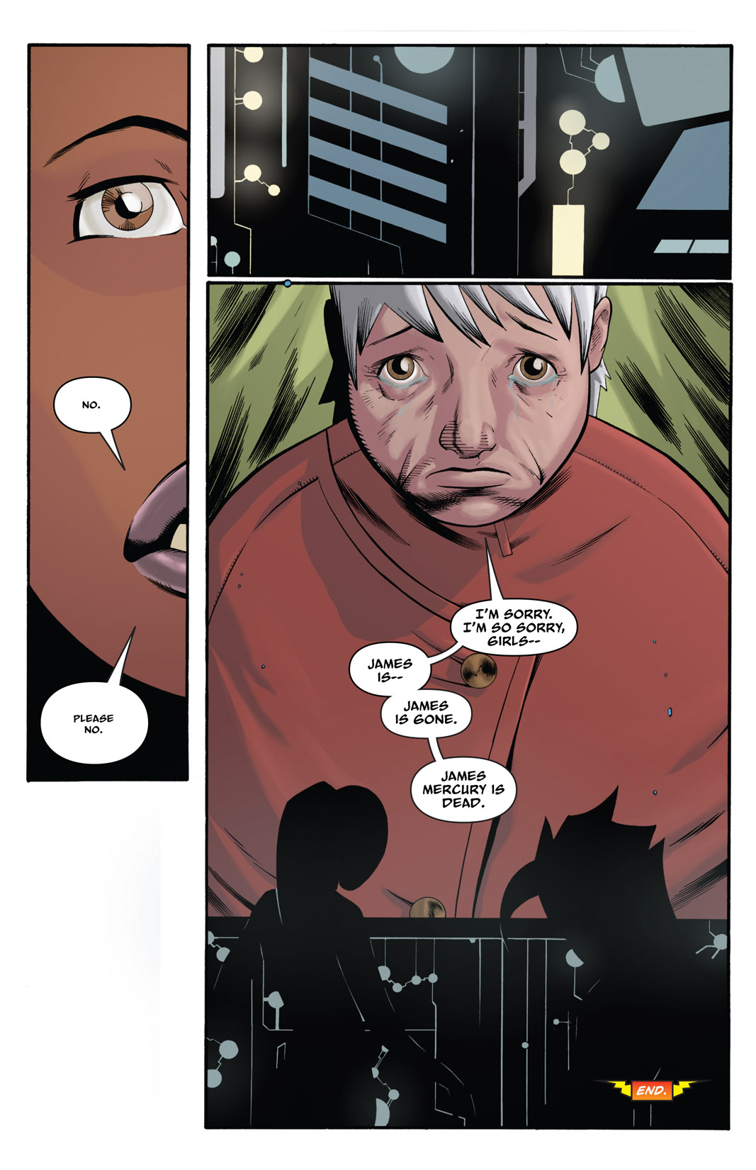 Read online The Many Adventures of Miranda Mercury: Time Runs Out comic -  Issue # TPB - 138