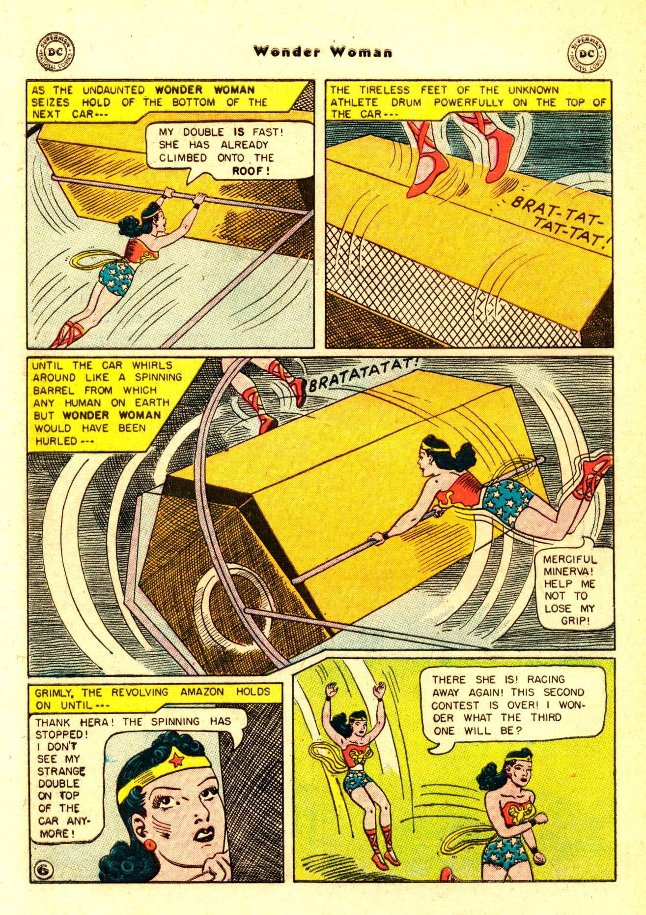Read online Wonder Woman (1942) comic -  Issue #84 - 9