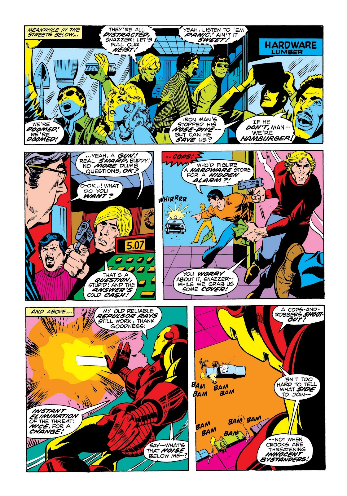 Read online Marvel Masterworks: The Invincible Iron Man comic -  Issue # TPB 8 (Part 3) - 55