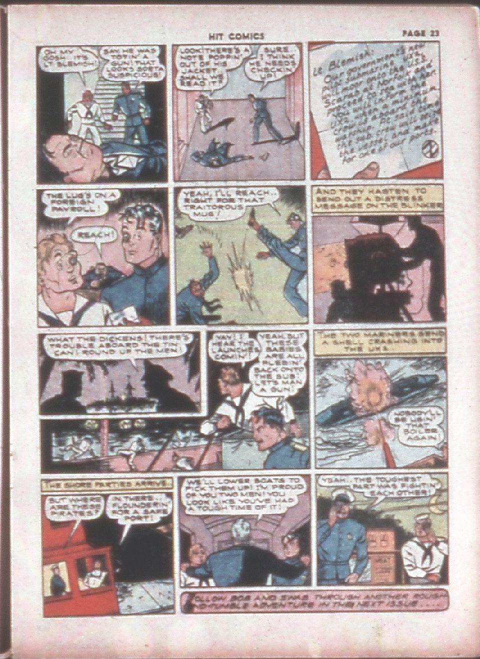 Read online Hit Comics comic -  Issue #8 - 25