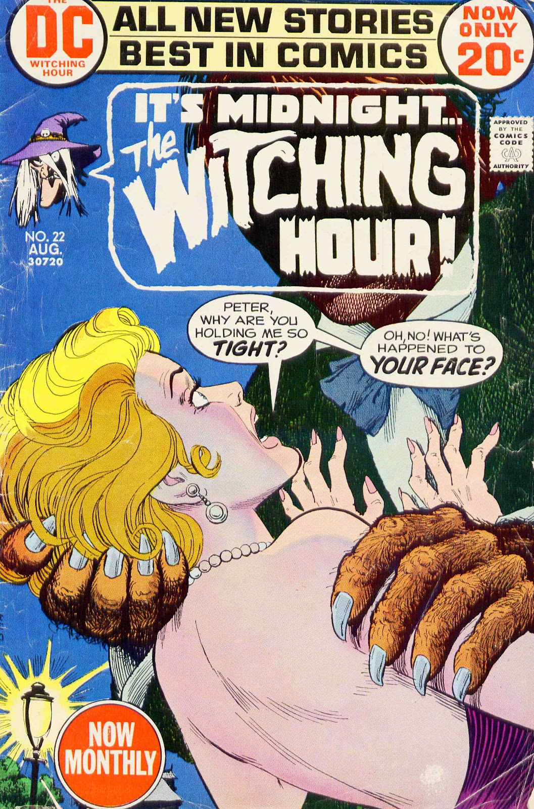 The Witching Hour (1969) issue 22 - Page 1
