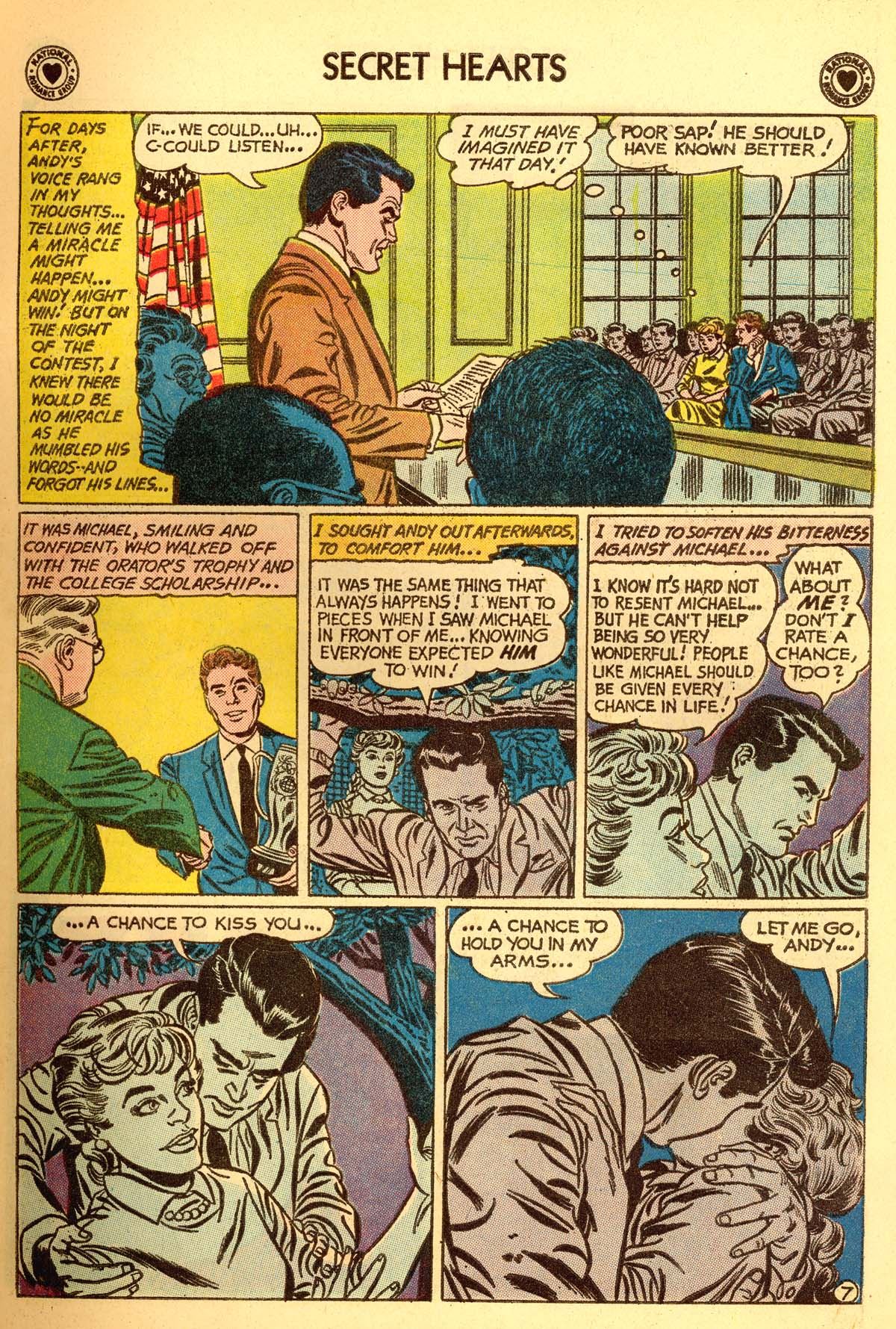 Read online Secret Hearts comic -  Issue #66 - 9