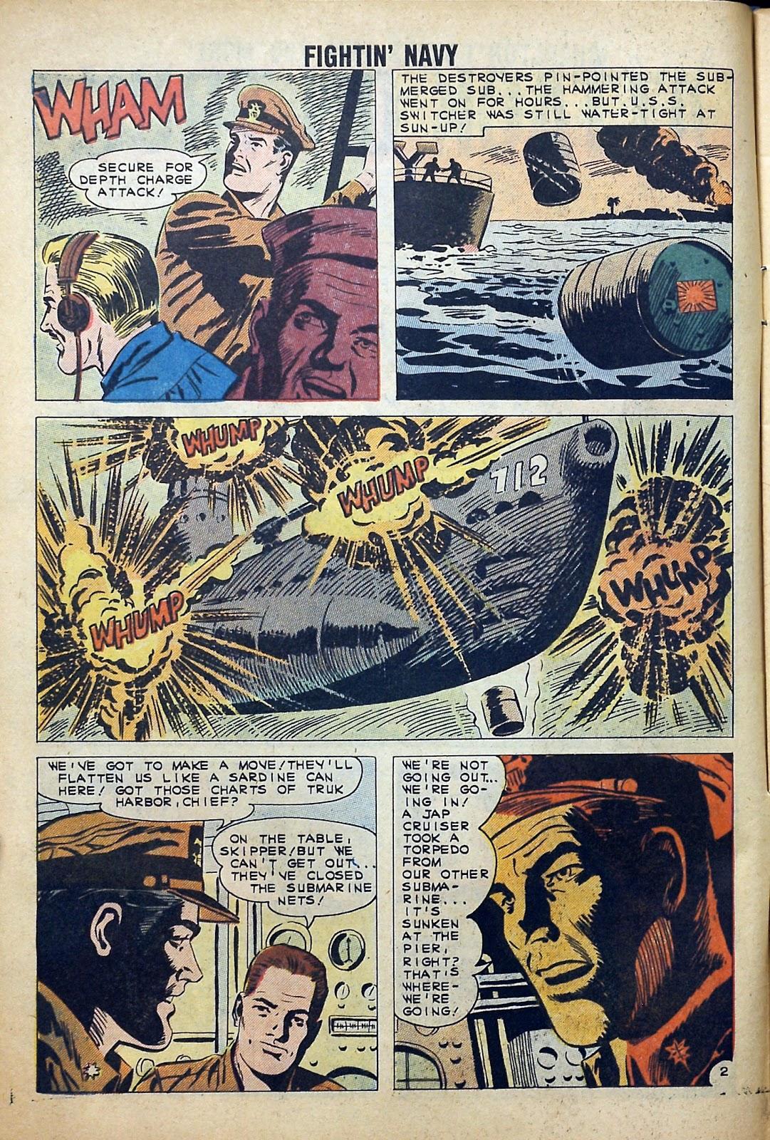 Read online Fightin' Navy comic -  Issue #99 - 4