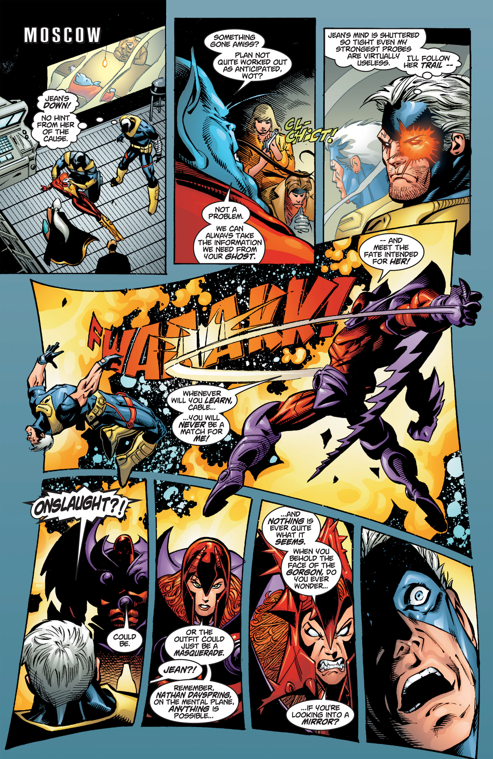 Read online Uncanny X-Men (1963) comic -  Issue #384 - 12
