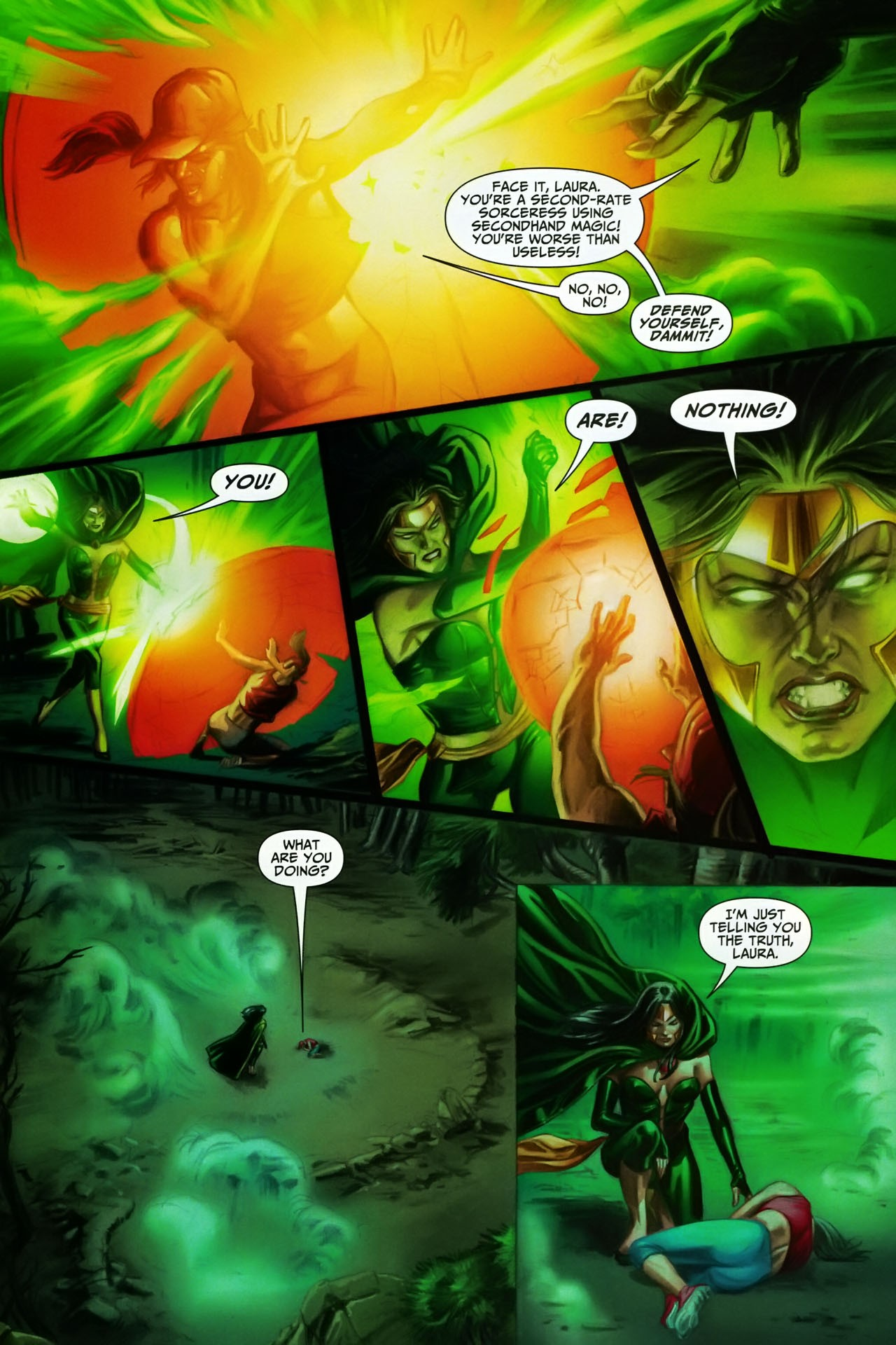 Read online Shadowpact comic -  Issue #17 - 20