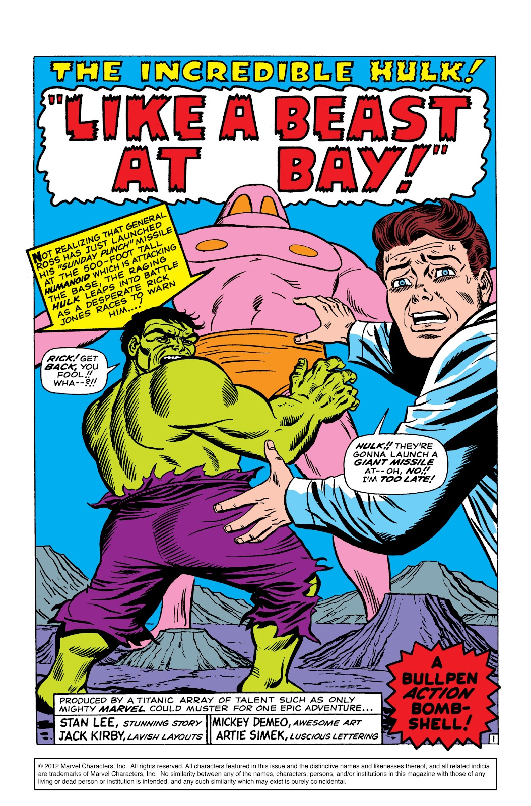 Read online Marvel Masterworks: The Incredible Hulk comic -  Issue # TPB 2 (Part 2) - 46