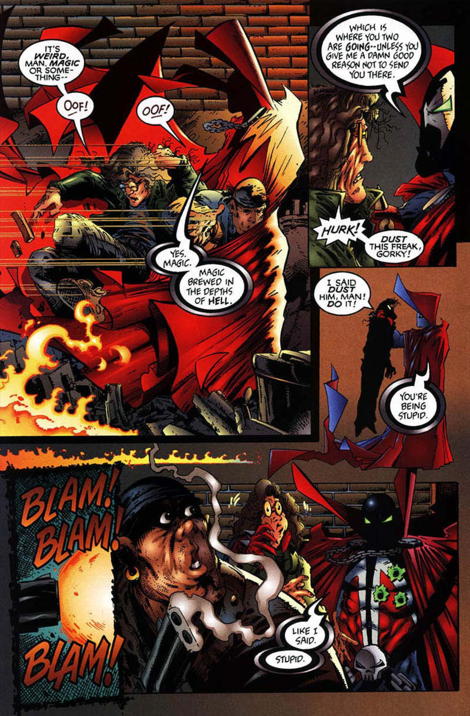 Read online Spawn-Batman comic -  Issue # Full - 16