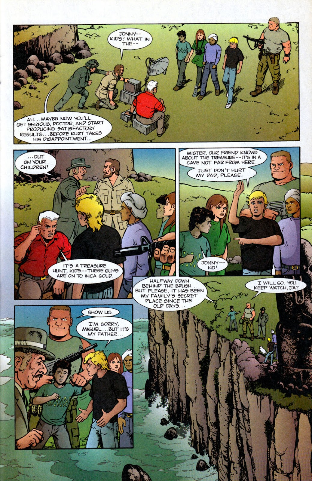 Read online The Real Adventures of Jonny Quest comic -  Issue #12 - 25