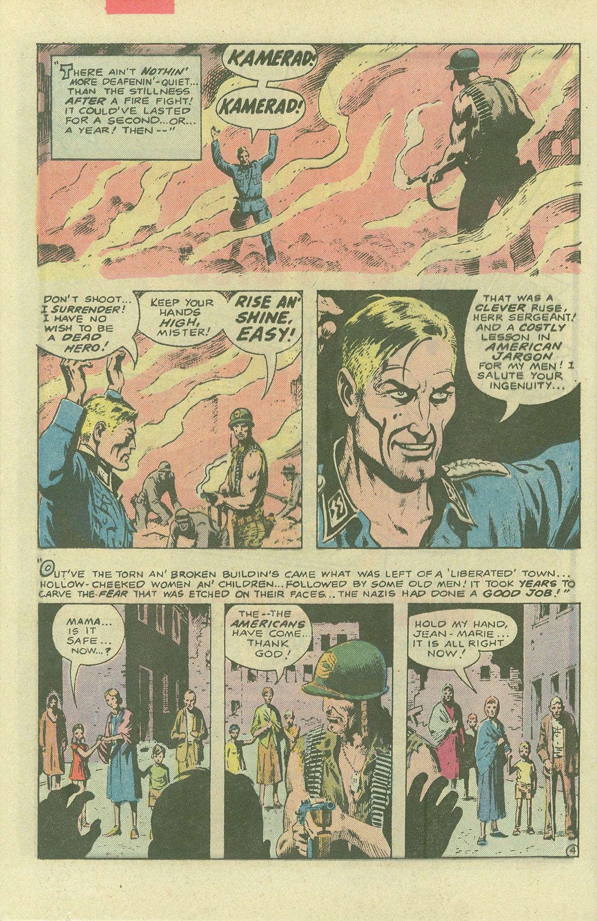Read online Sgt. Rock comic -  Issue #396 - 21