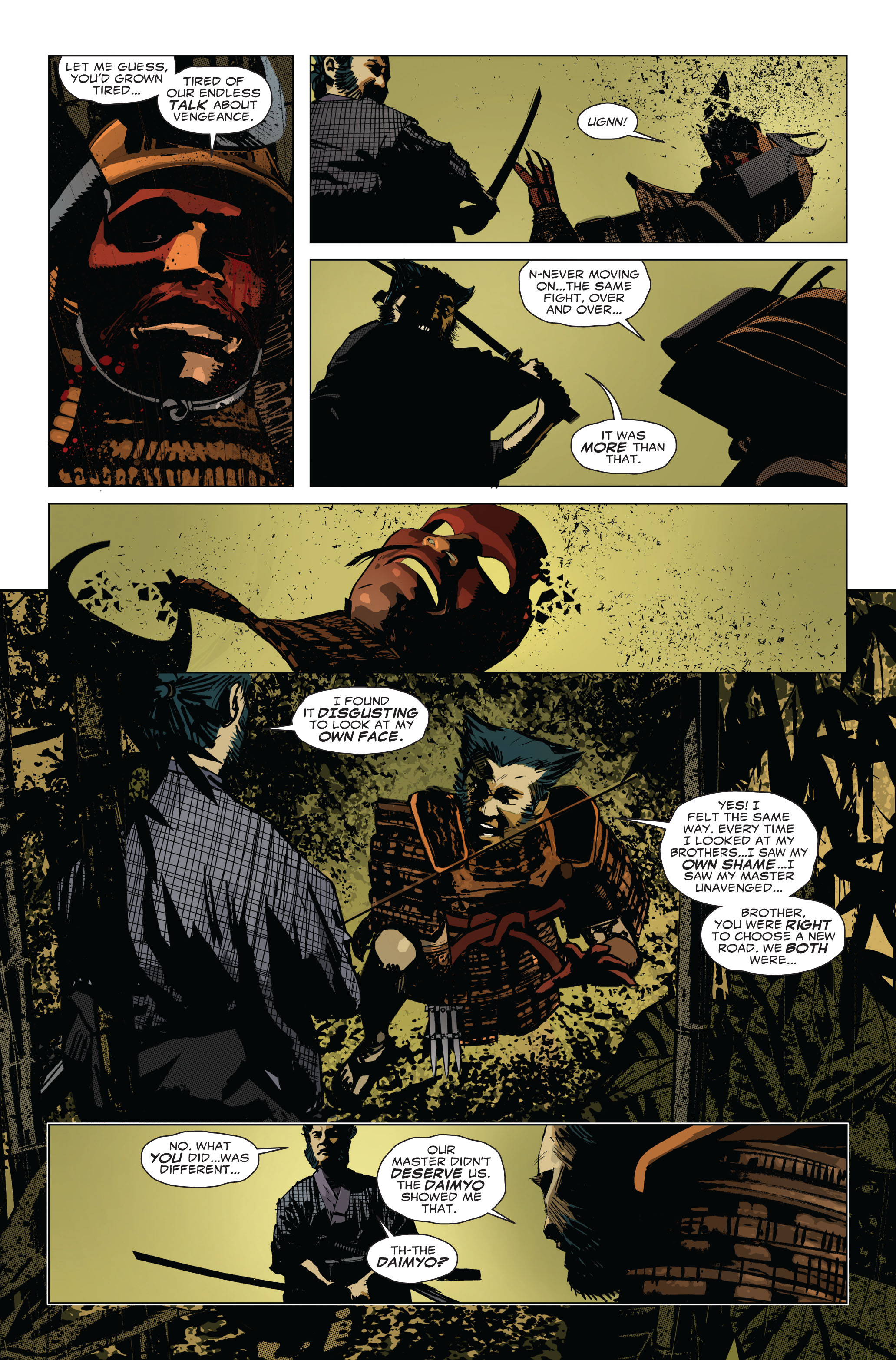 Read online 5 Ronin (2011) comic -  Issue #1 - 20
