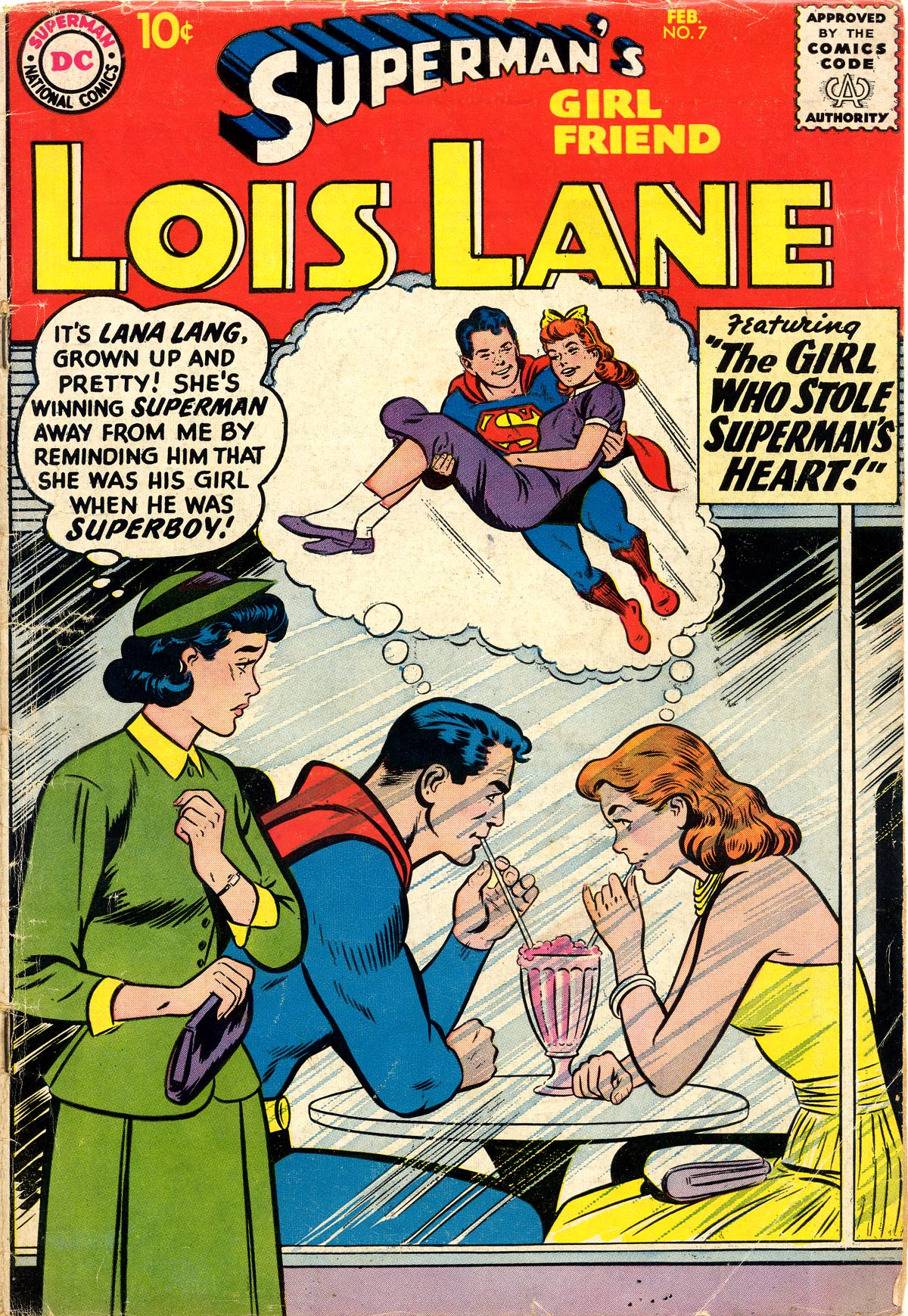 Supermans Girl Friend, Lois Lane 7 Page 1