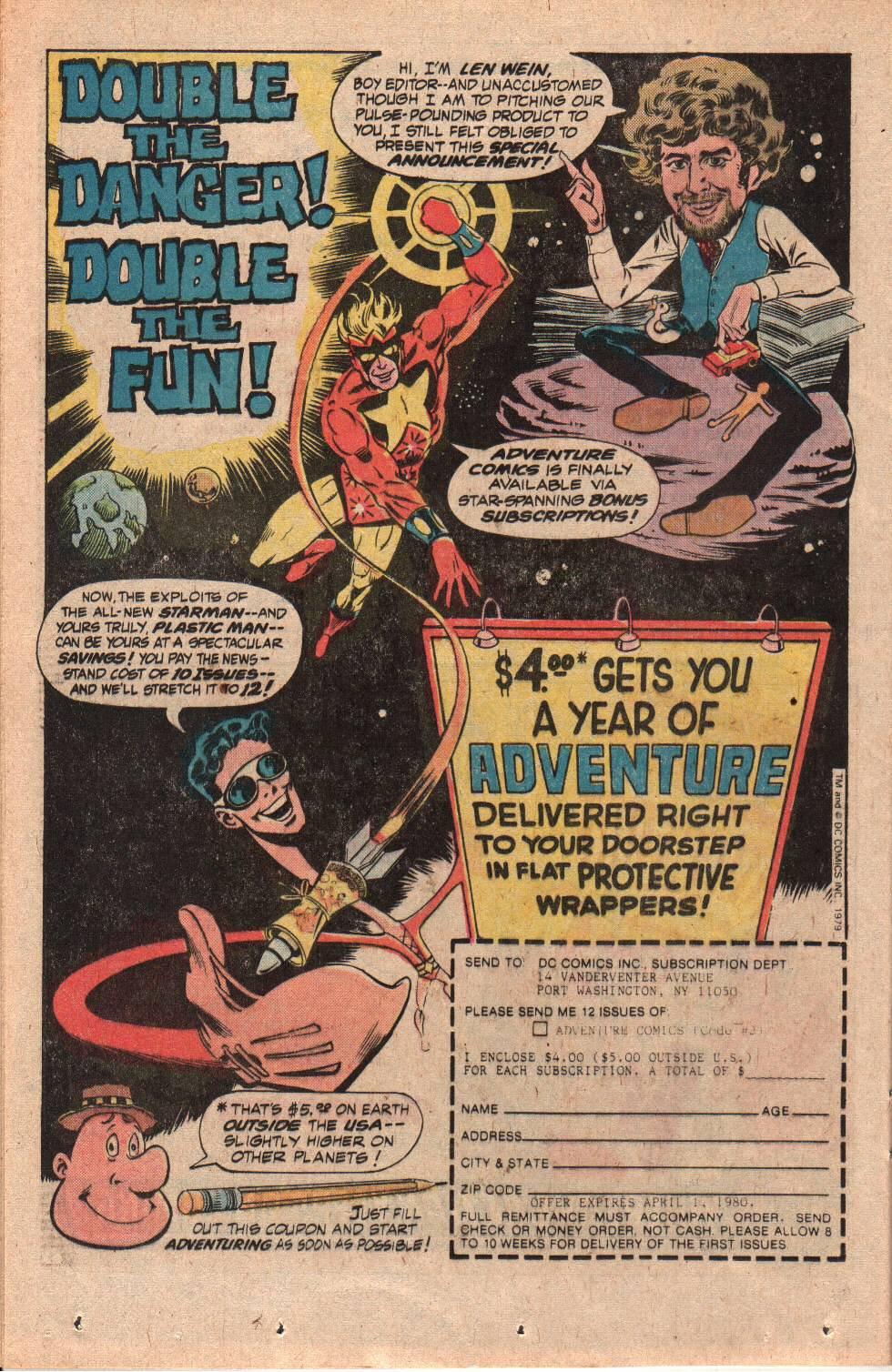 Read online Adventure Comics (1938) comic -  Issue #469 - 24