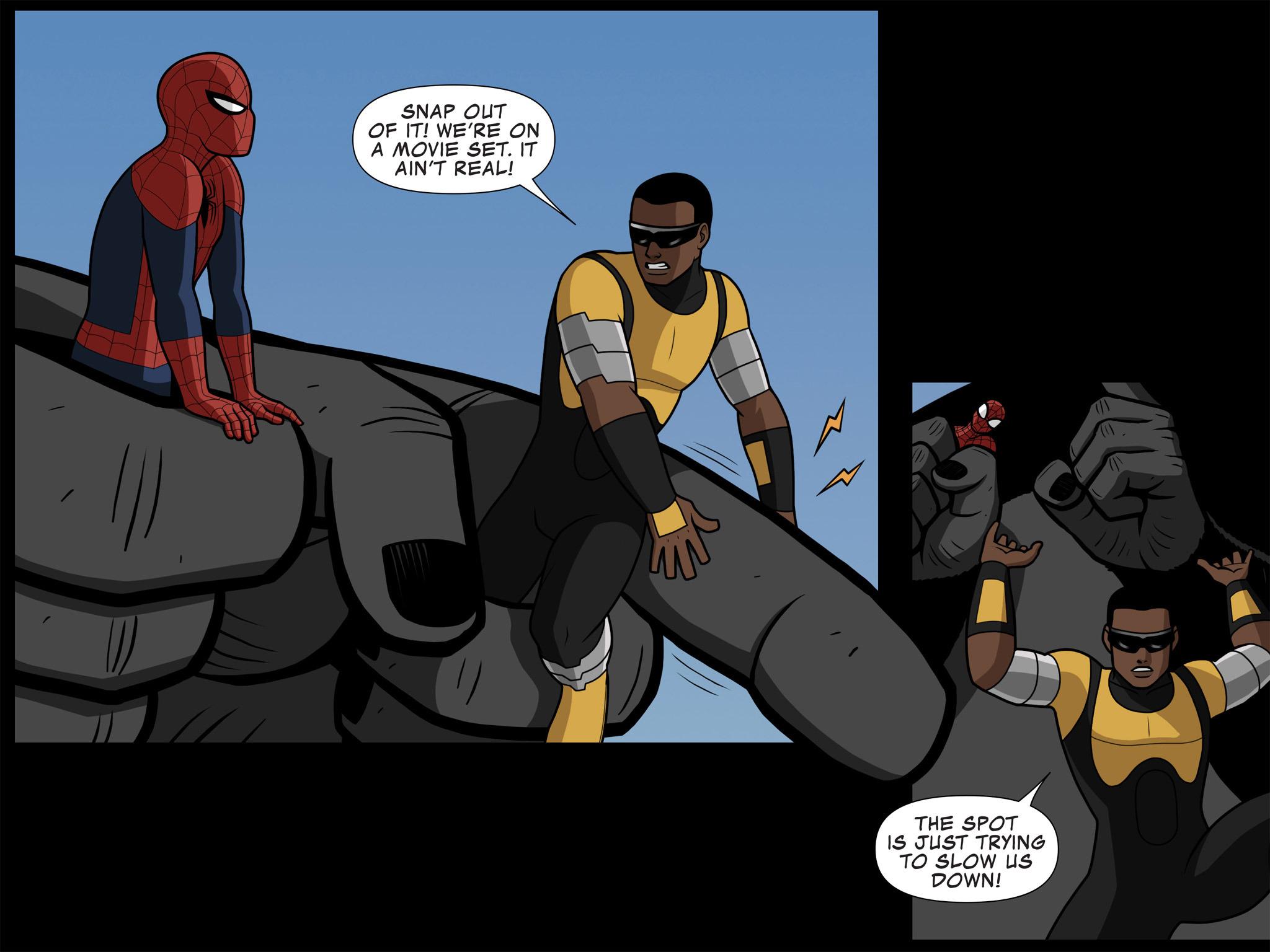 Read online Ultimate Spider-Man (Infinite Comics) (2015) comic -  Issue #10 - 29