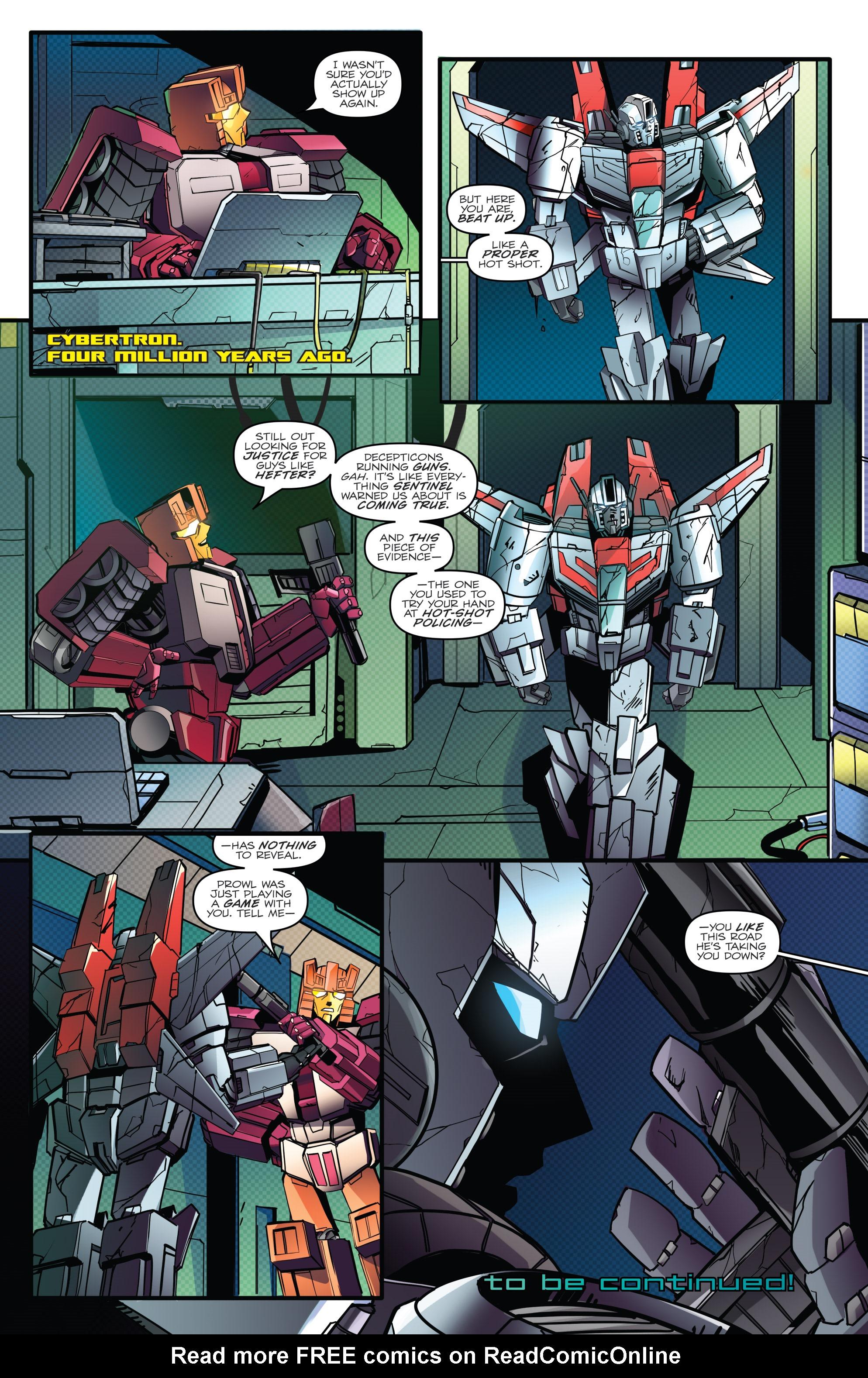 Read online Optimus Prime comic -  Issue #7 - 23
