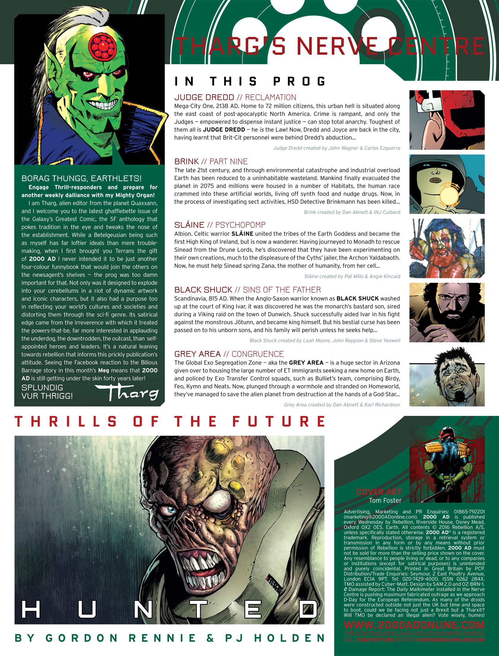 Read online 2000 AD comic -  Issue #1986 - 2