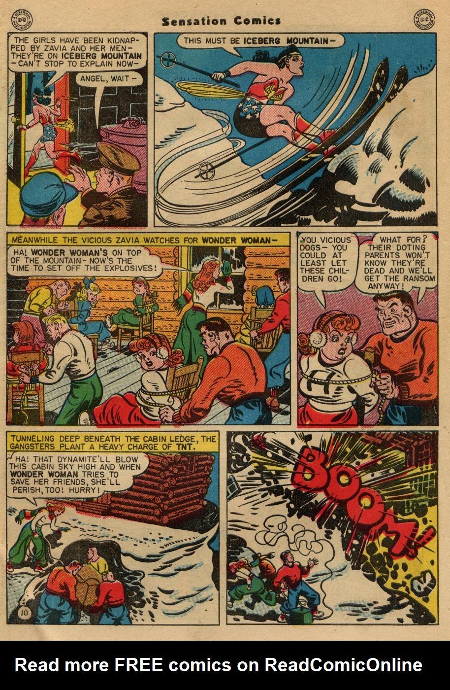Read online Sensation (Mystery) Comics comic -  Issue #49 - 12