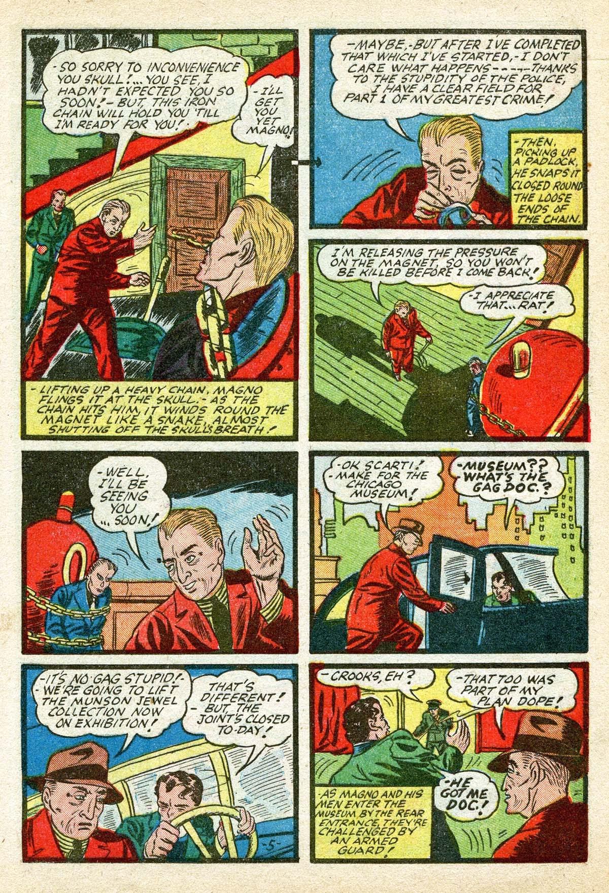 Read online Amazing Man Comics comic -  Issue #8 - 25