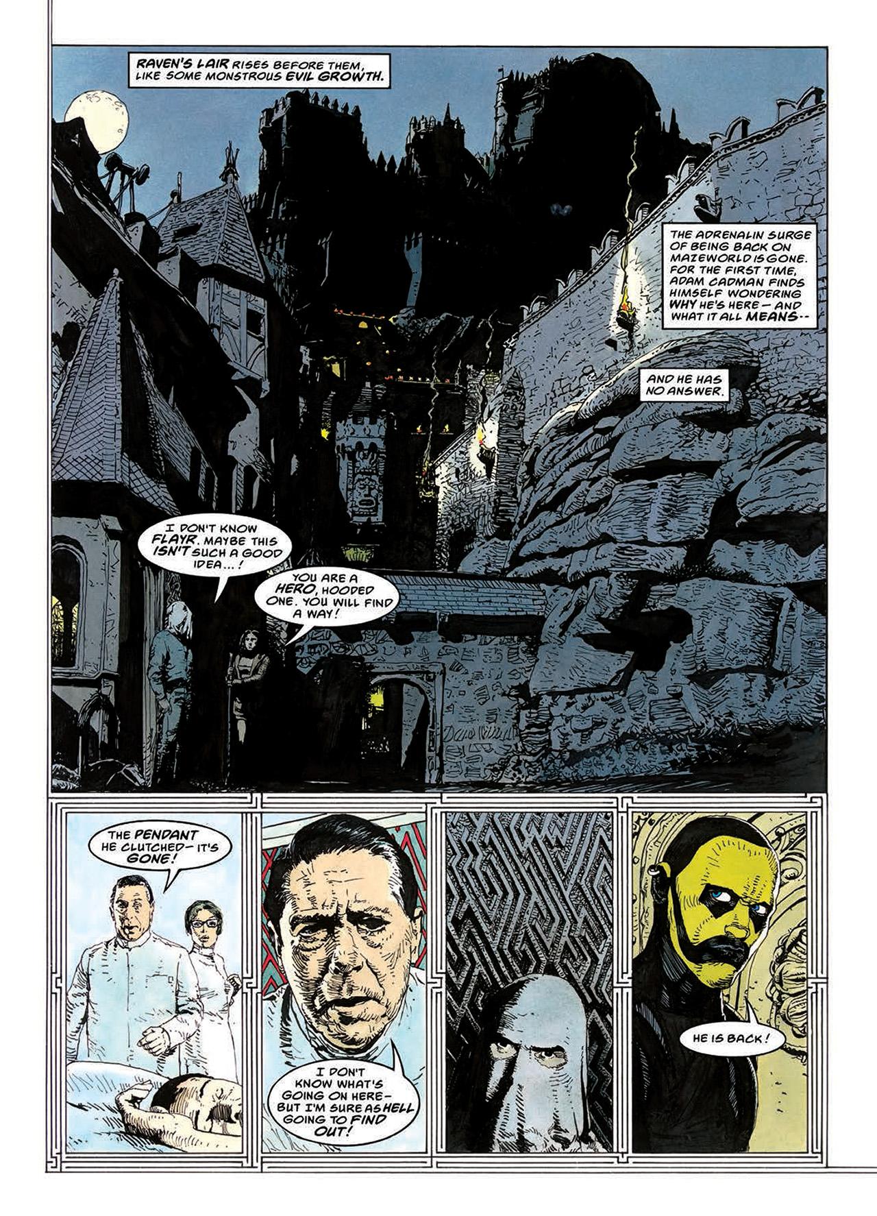 Read online Mazeworld comic -  Issue # TPB - 77