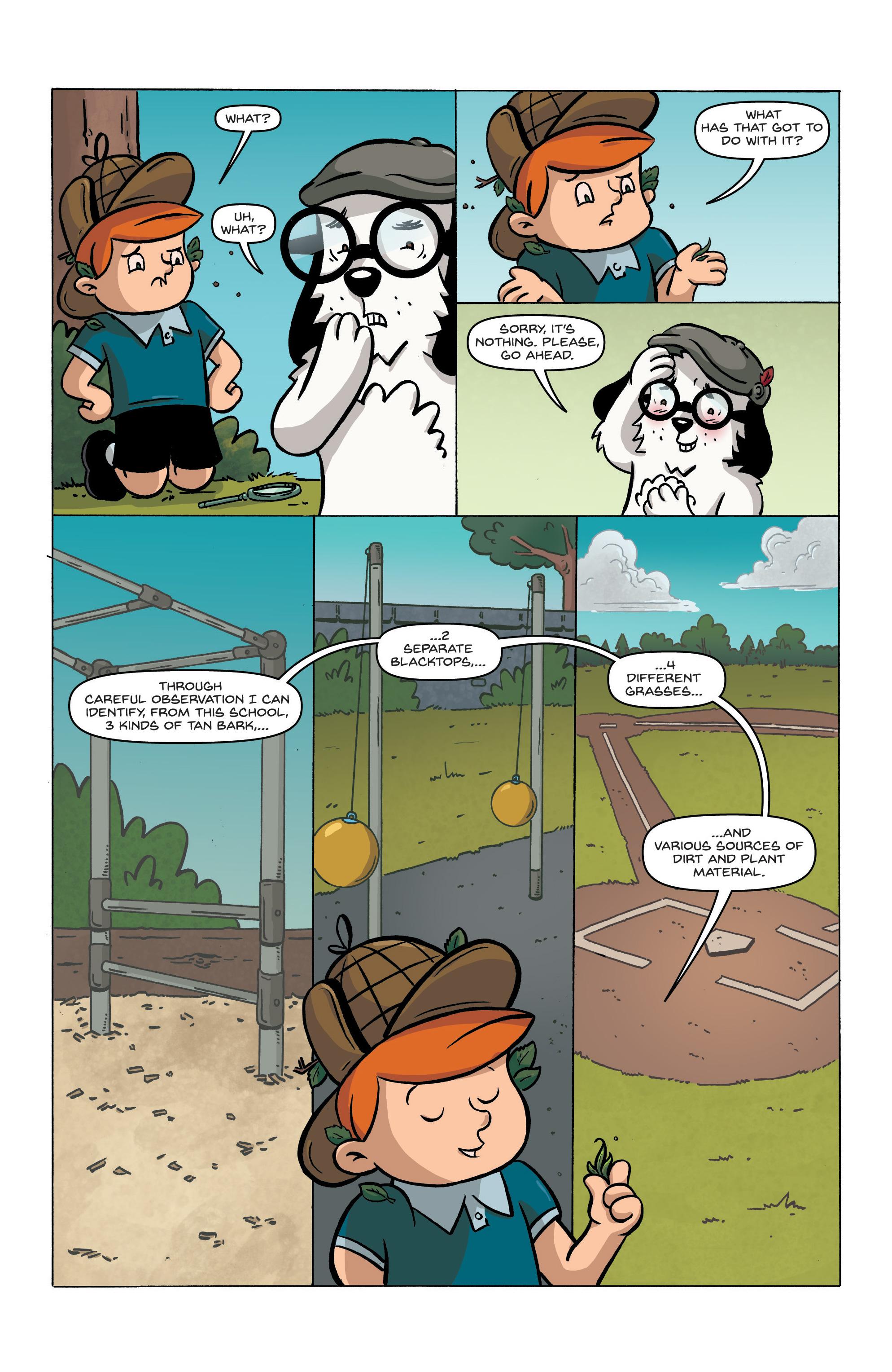 Read online Kid Sherlock comic -  Issue #1 - 11
