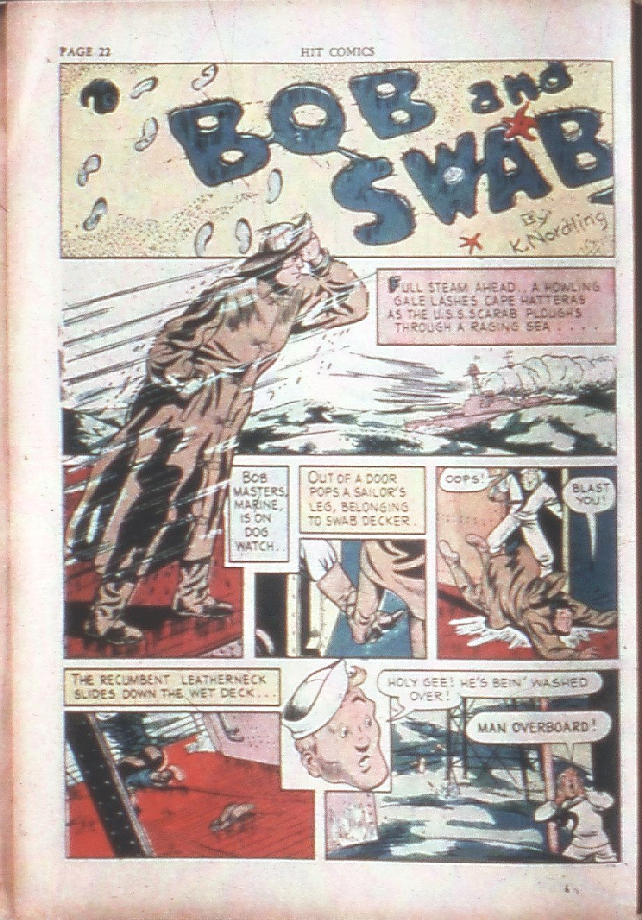 Read online Hit Comics comic -  Issue #15 - 24