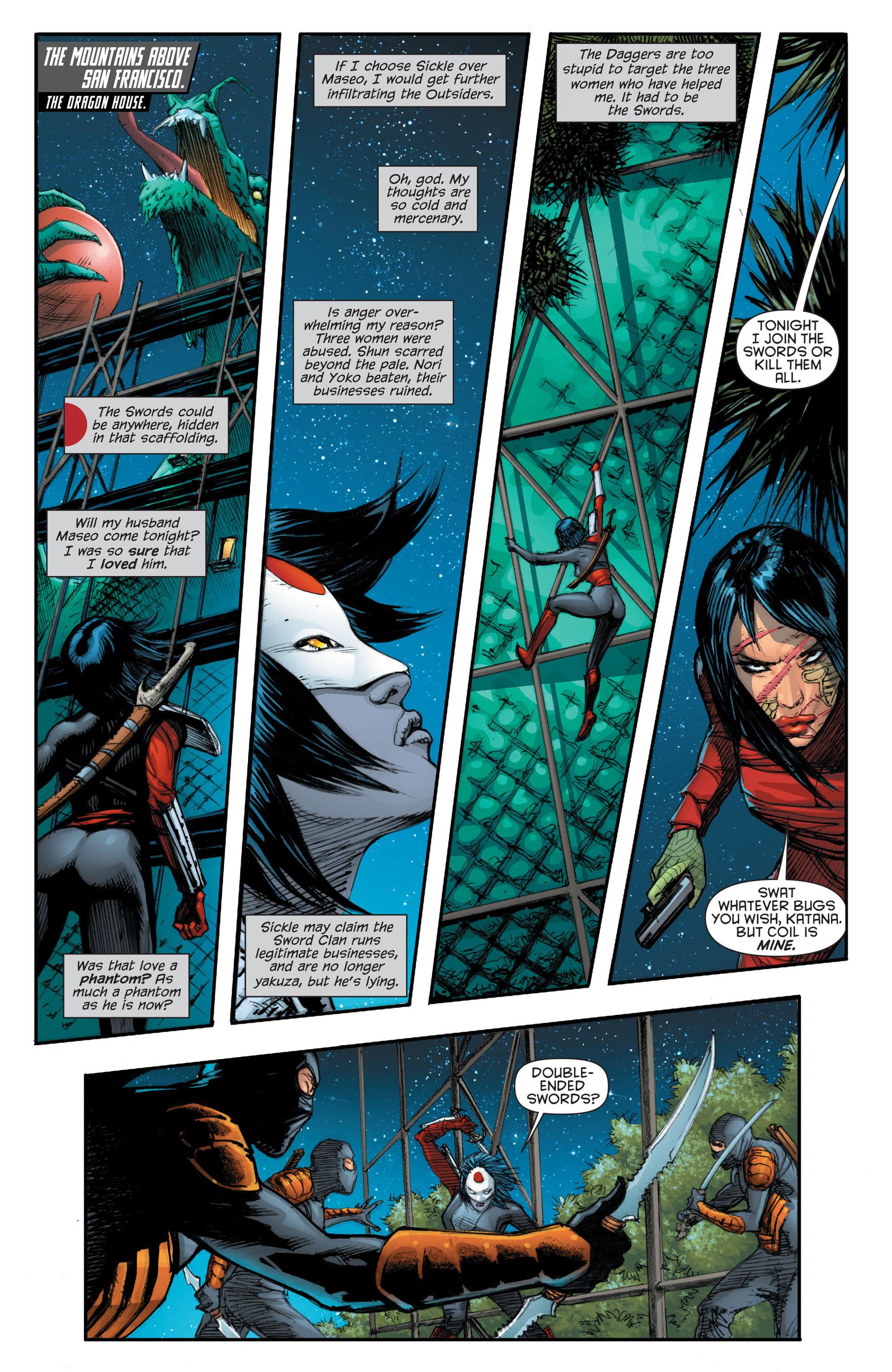 Read online Katana comic -  Issue #7 - 11