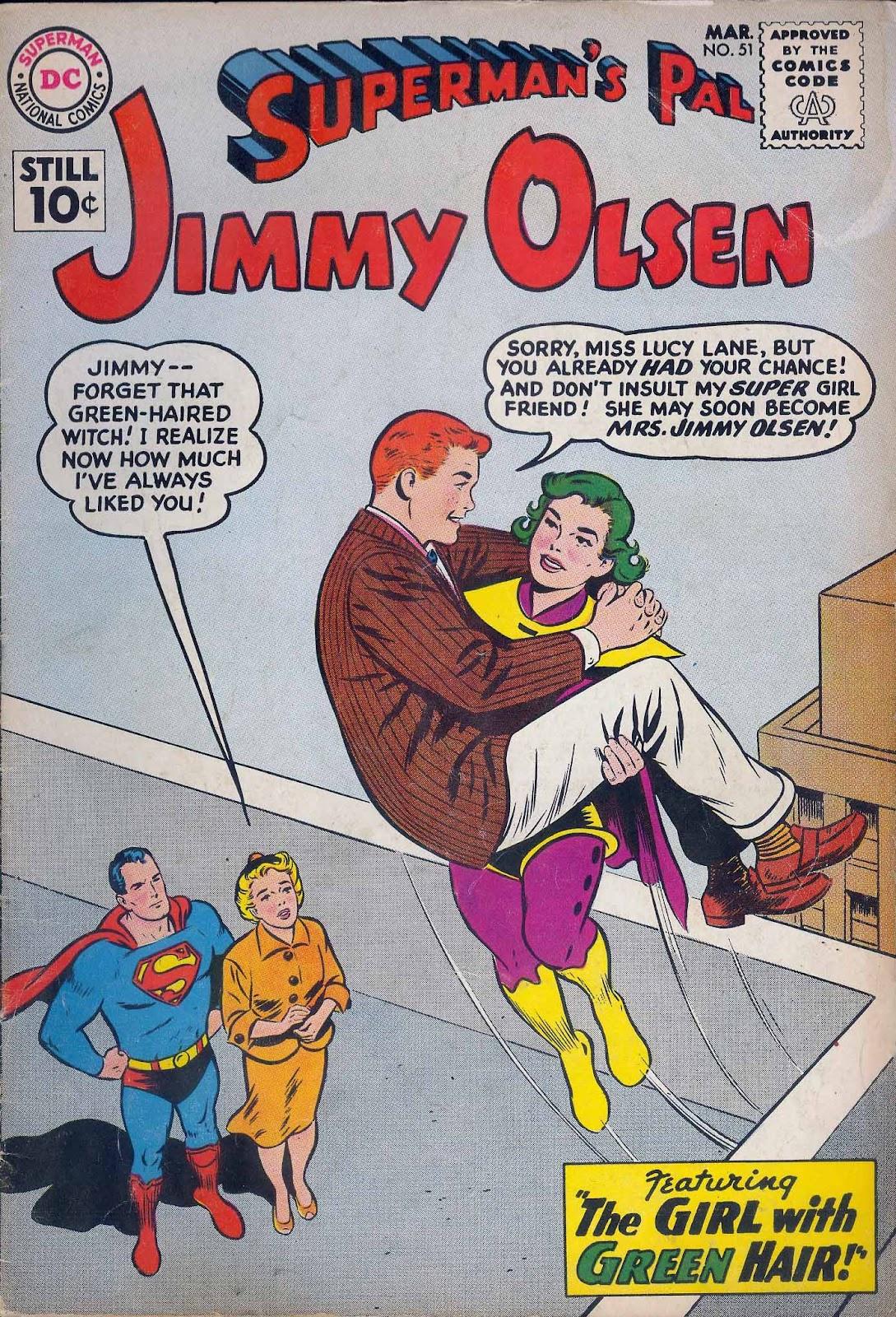 Supermans Pal Jimmy Olsen (1954) 51 Page 1
