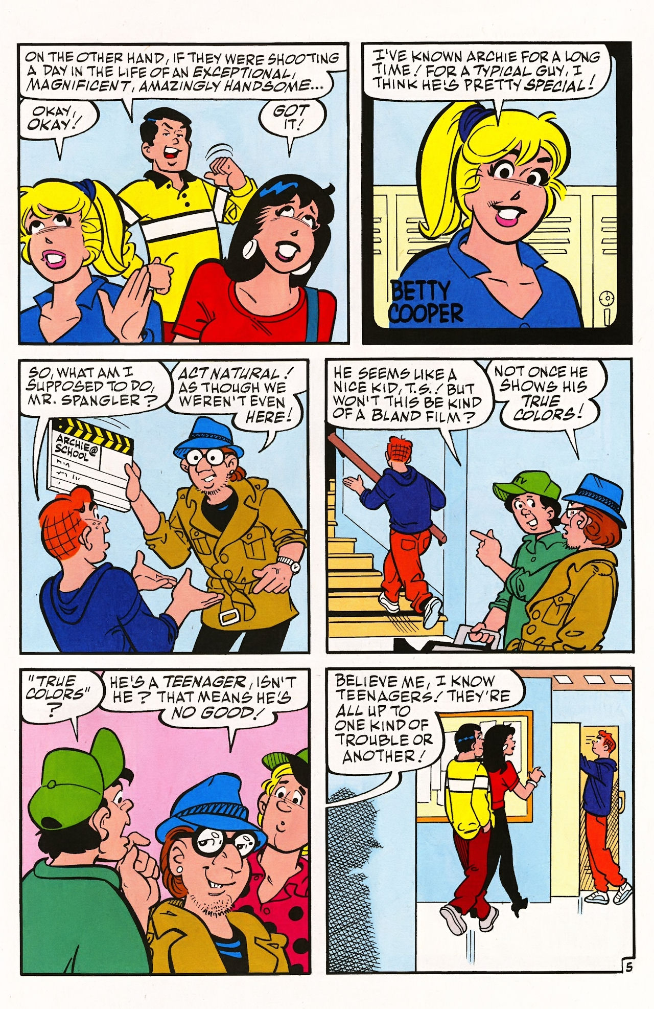 Read online Archie (1960) comic -  Issue #597 - 7
