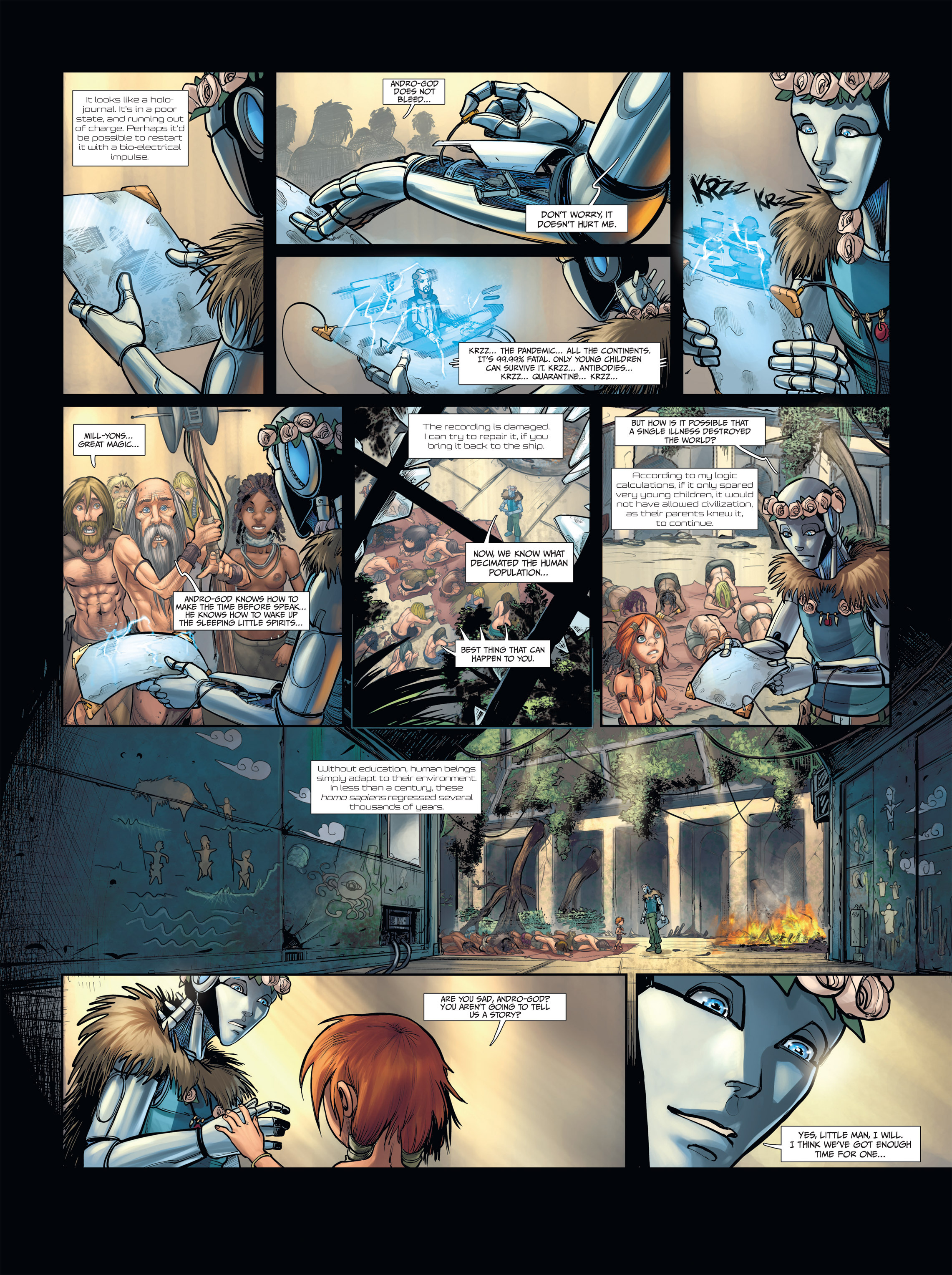 Read online Androïds comic -  Issue #2 - 22